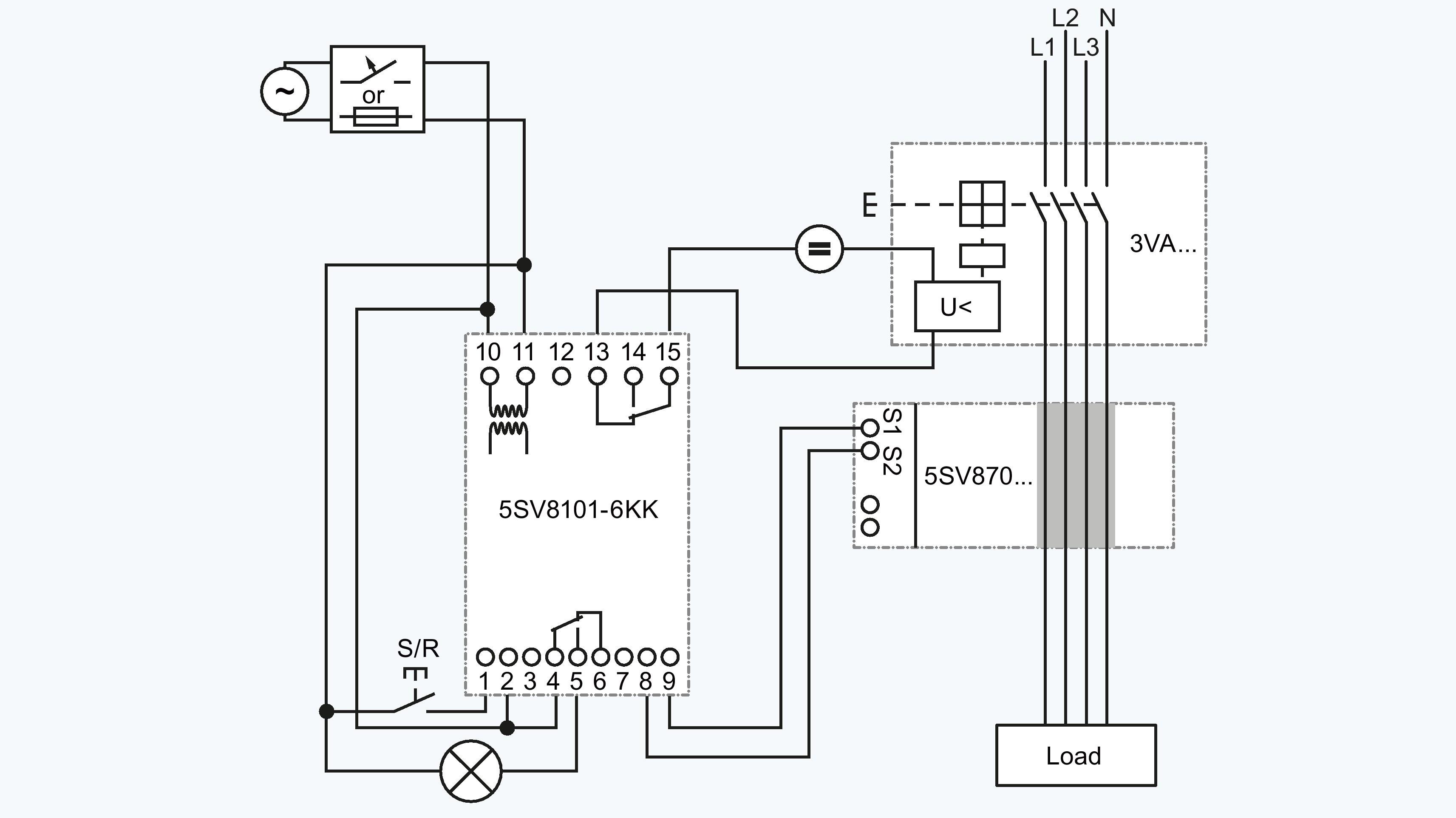 Siemens Shunt Trip Breaker Wiring Diagram My Wiring Diagram
