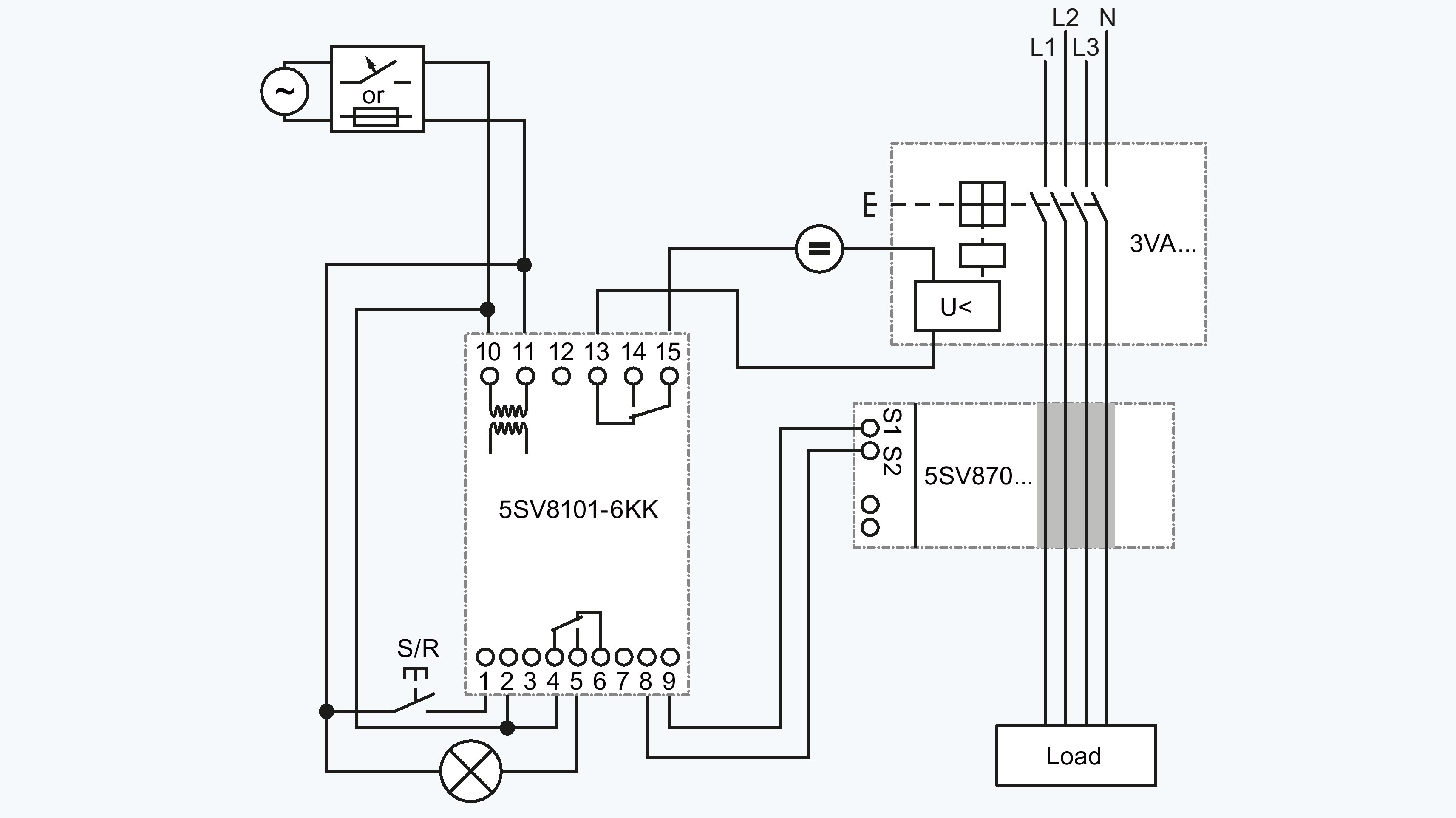 siemens shunt trip breaker wiring diagram square d shunt