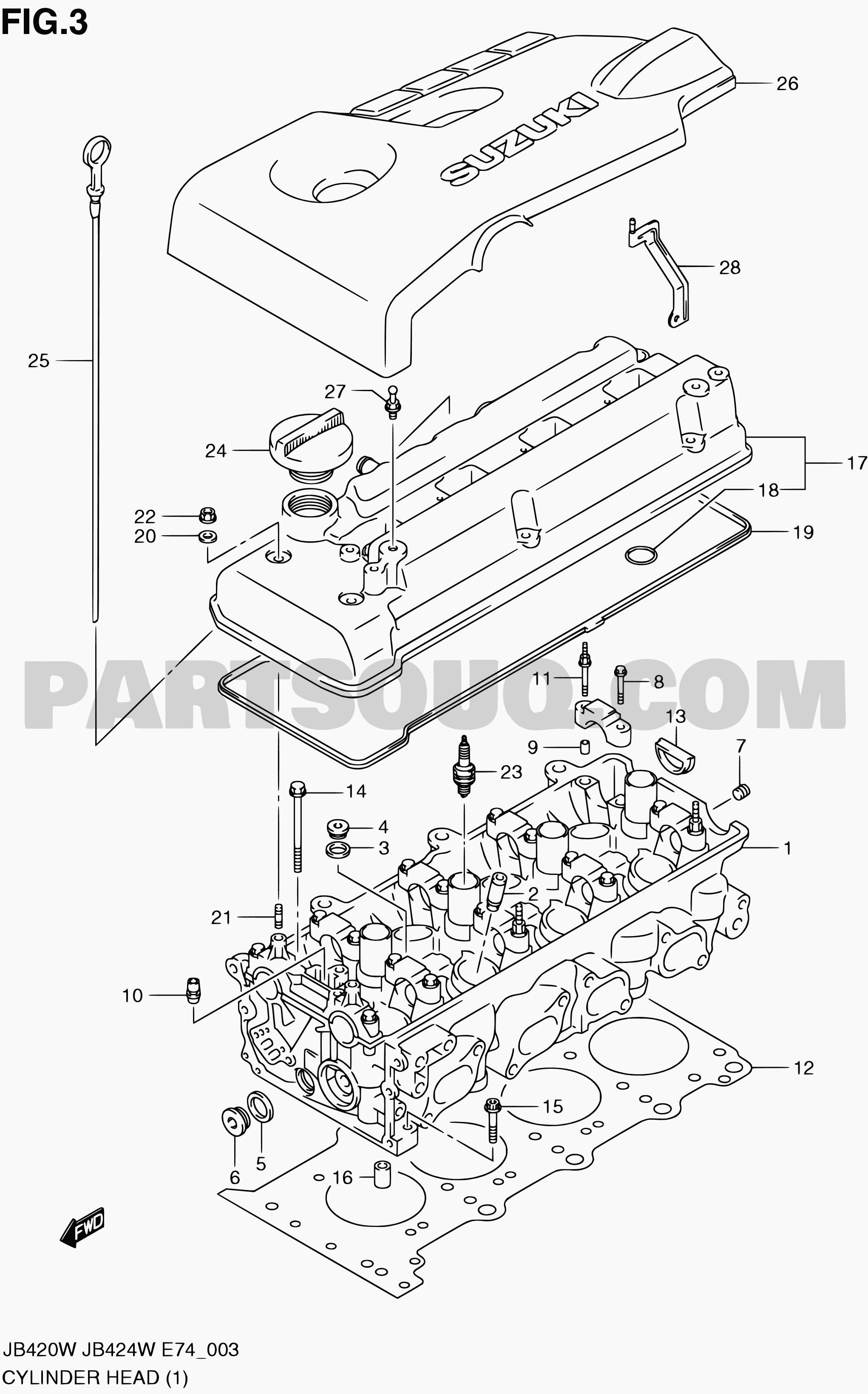 Suzuki Grand Vitara Engine Diagram 1 Engine Grand Vitara Jb420 Jb420w Suzuki Of Suzuki Grand Vitara Engine Diagram