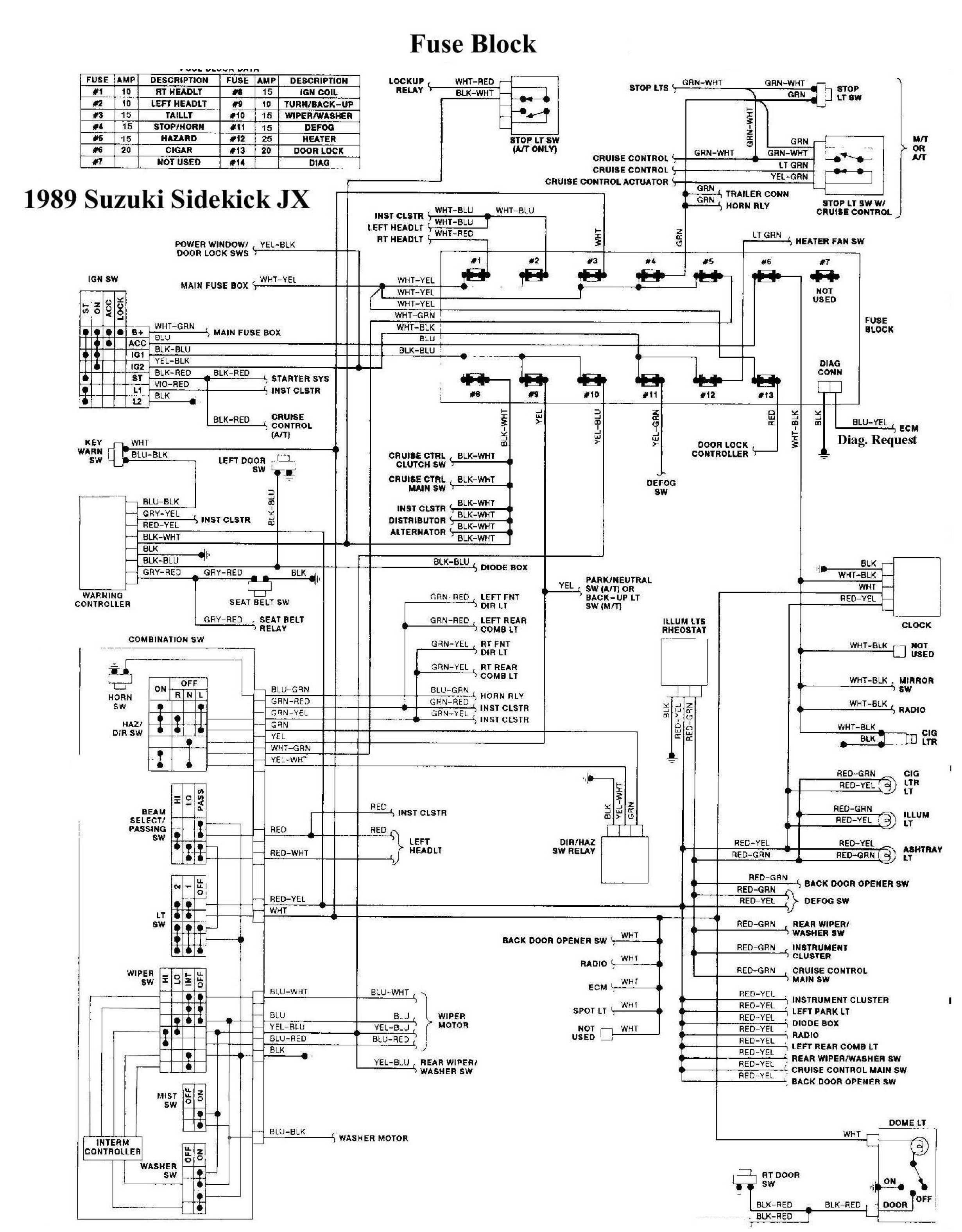 Suzuki Door Schematic - Auto Electrical Wiring Diagram •