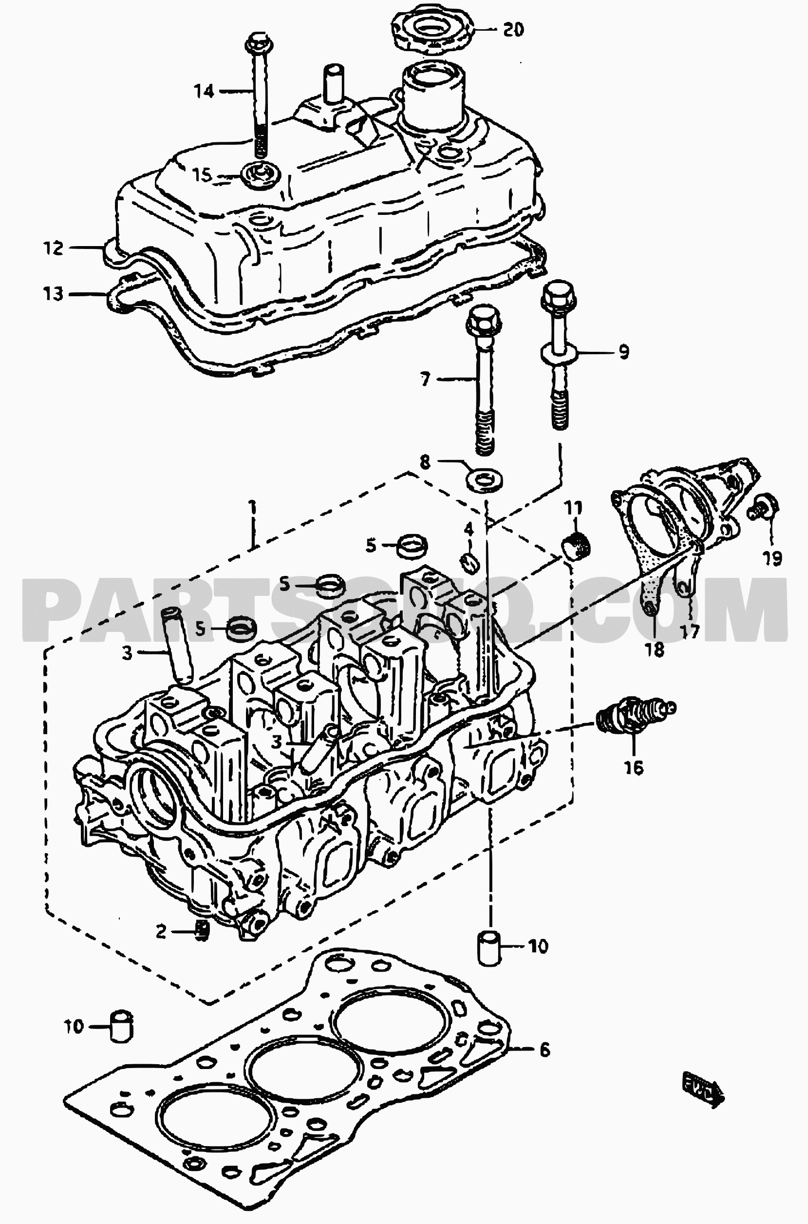 suzuki swift engine diagram