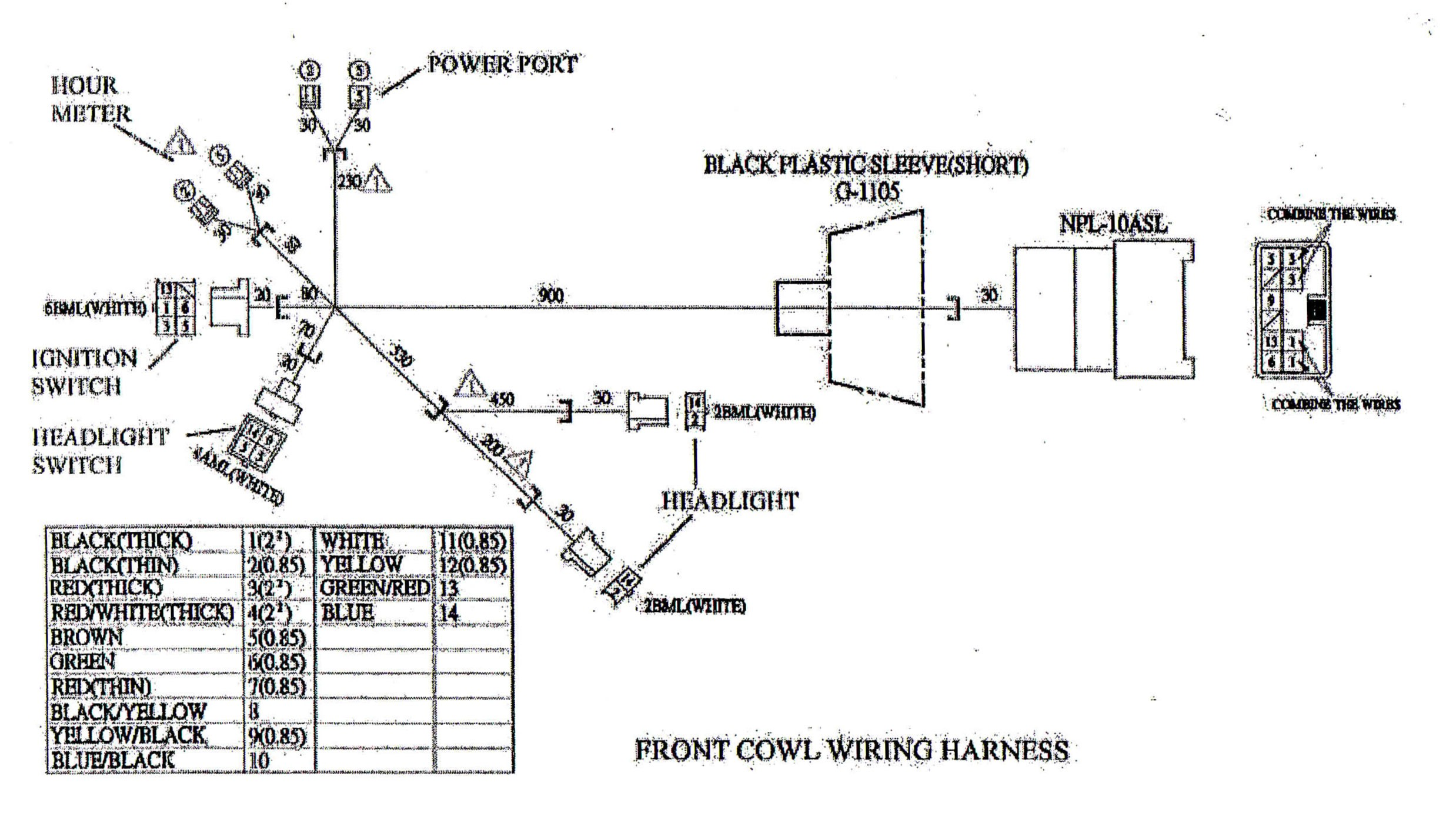Tecumseh Engine Wiring Diagram Main Wire Cowl for Yerf Dog Cuvs Of Tecumseh Engine Wiring Diagram