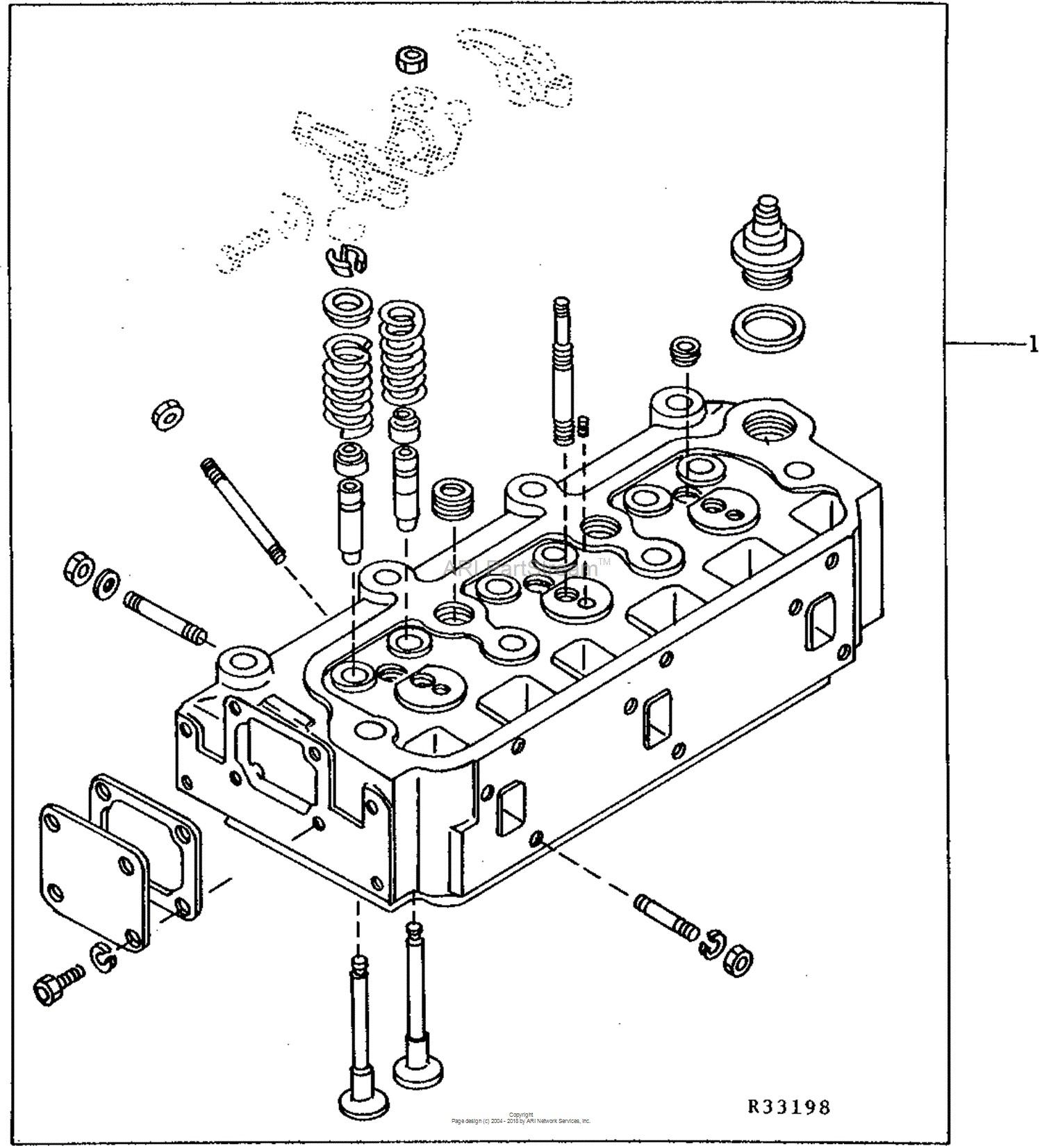 tractor engine diagram john deere parts diagrams john