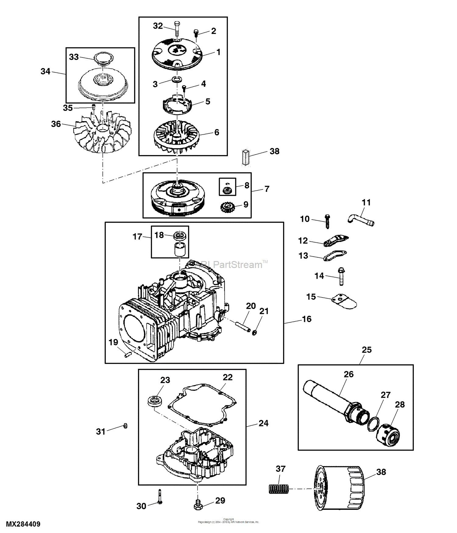 Tractor Engine Diagram John Deere Parts Diagrams John Deere L100 Lawn Tractor with 42 In Of Tractor Engine Diagram