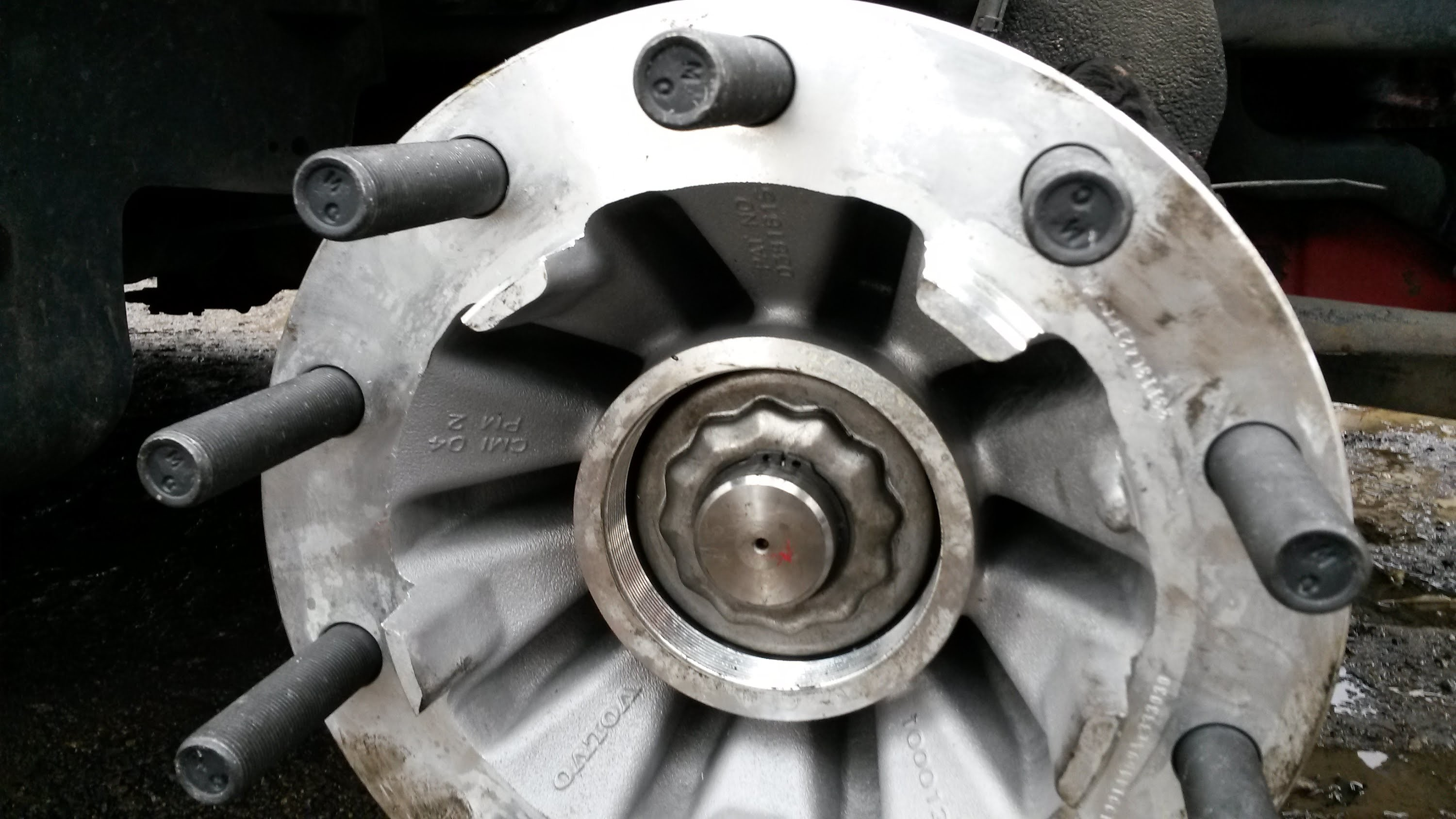 Trailer Wheel Hub Assembly Diagram How To Replace Steer Axle On The