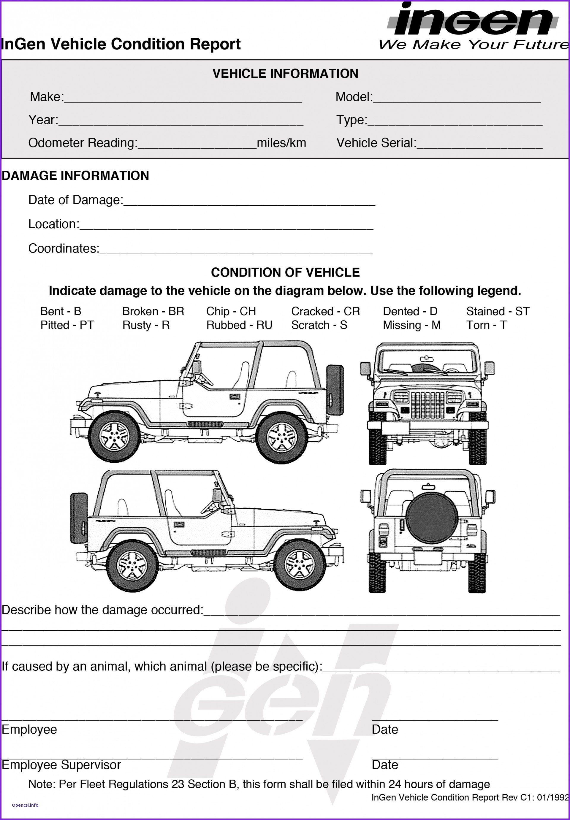 Truck Damage Diagram Vehicle Damage Diagram Template New Best Beautiful Truck Condition Of Truck Damage Diagram