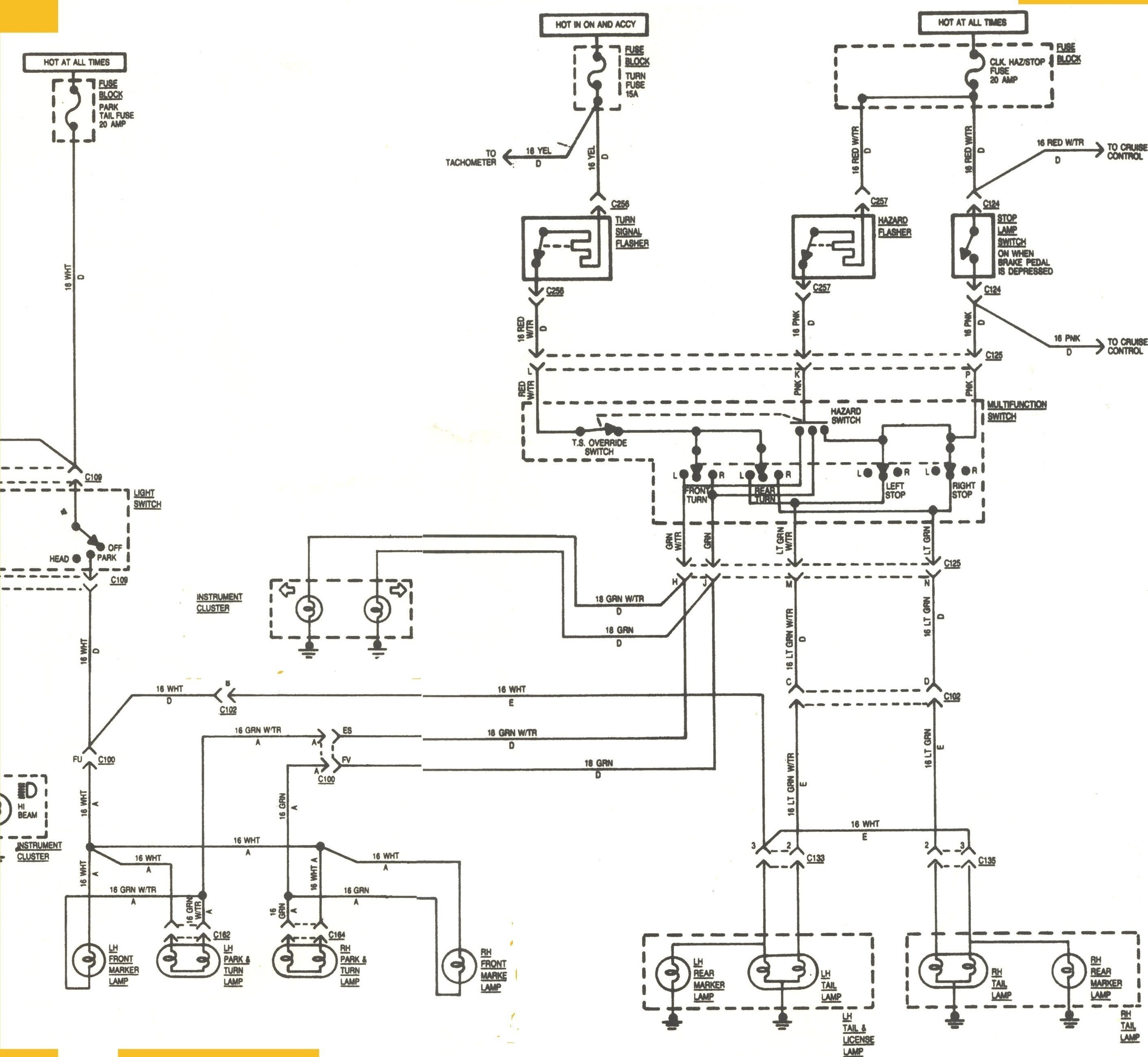 Turn Signal Schematic Diagram Turn Signal Flasher Diagram Turn Signal Wiring Diagram Turn Signal