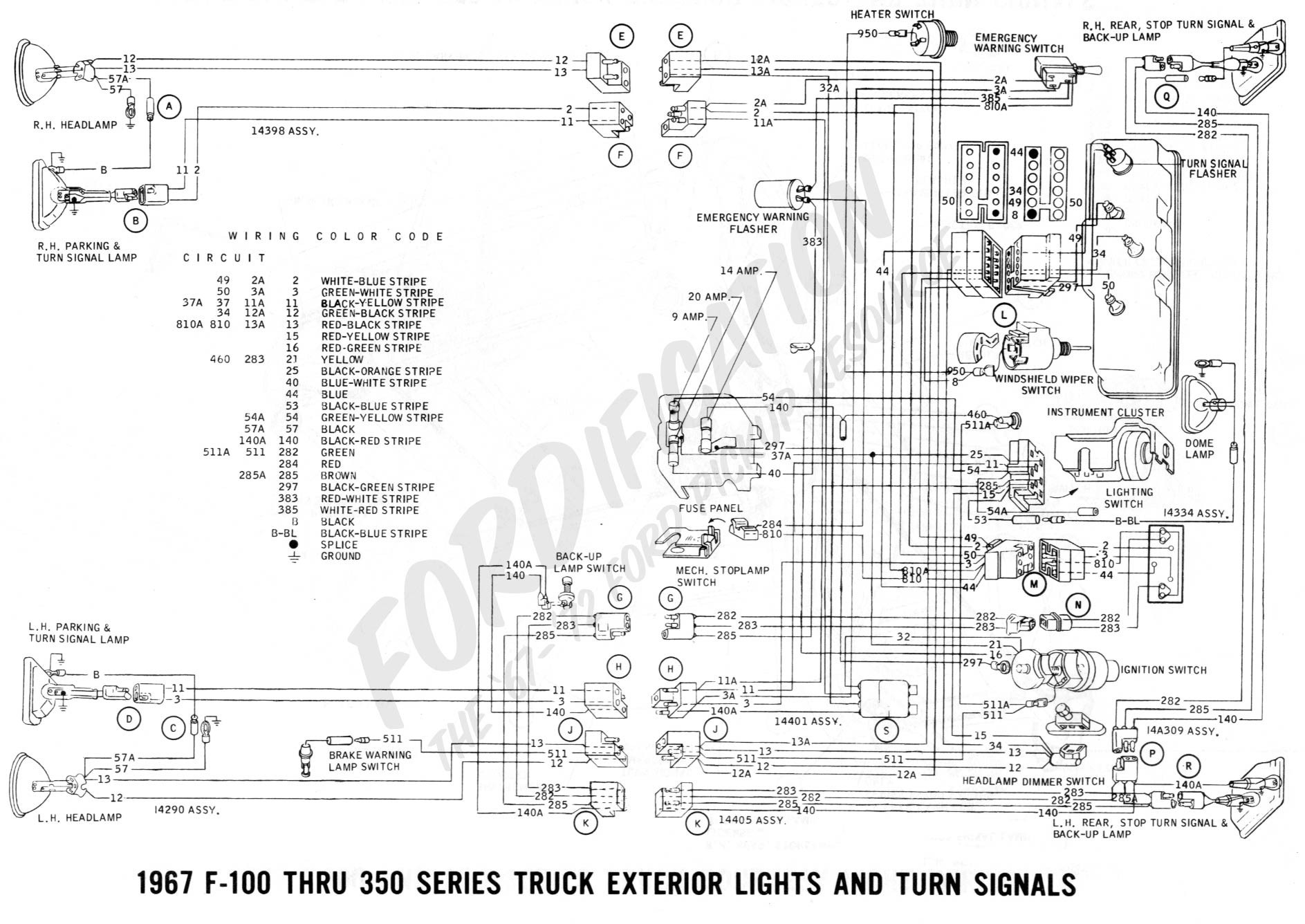 Turn Signal Wiring Diagram Chevy Truck Turn Signal Wiring Diagram ford Truck Technical Drawings and
