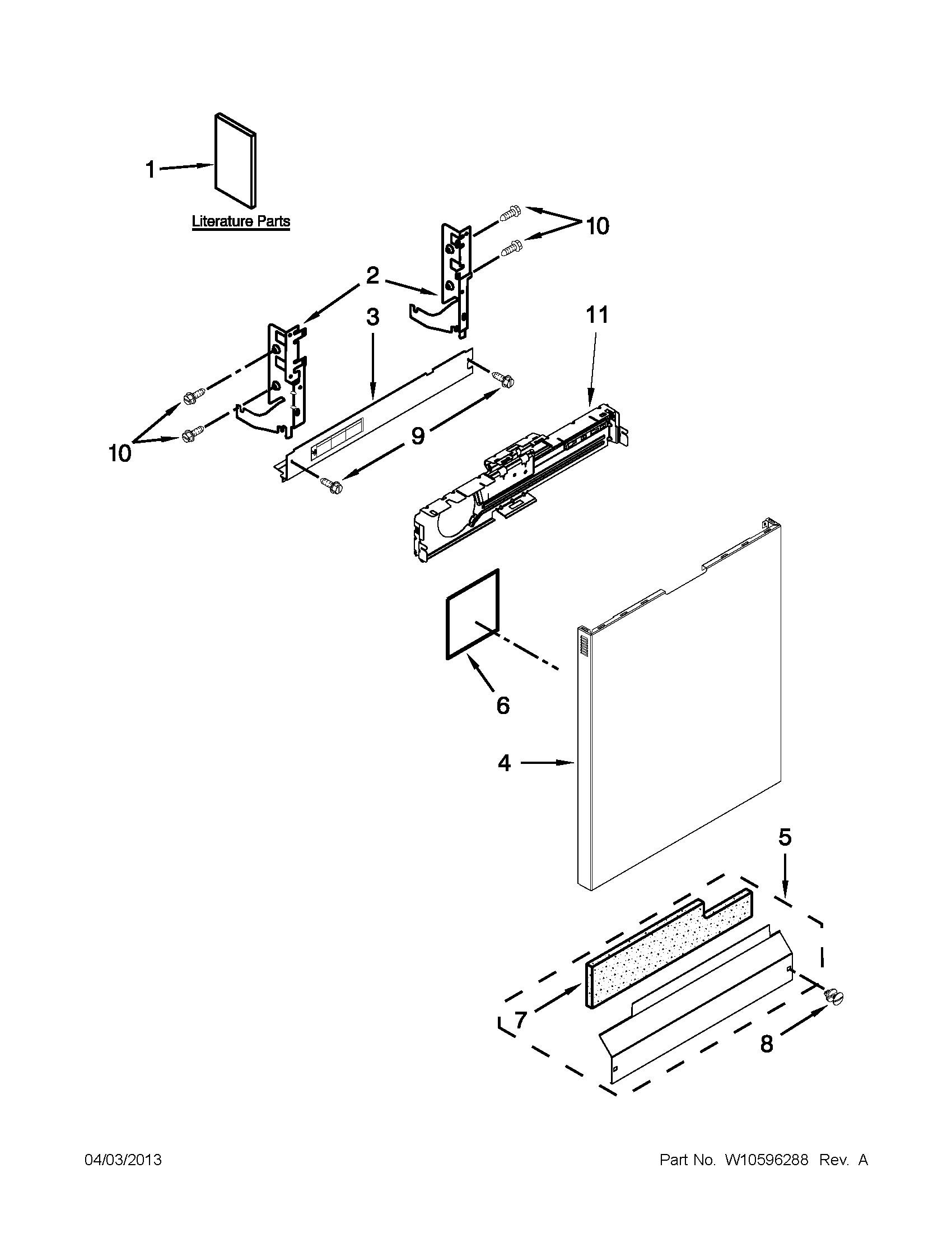 Two Stroke Engine Parts Diagram Kenmore Model K113 Dishwasher Genuine Parts Of Two Stroke Engine Parts Diagram