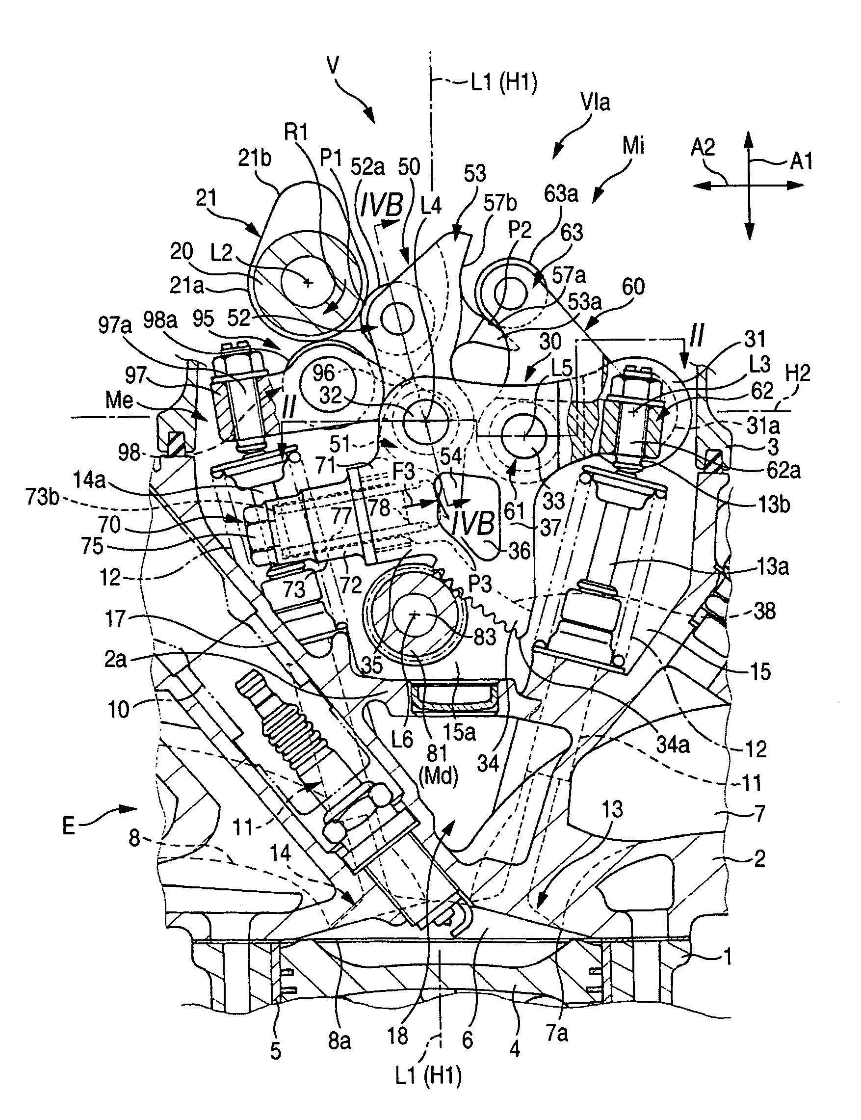 Valve Train Diagram Valve Train Of Internal Bustion Engine Schematic Of Valve Train Diagram