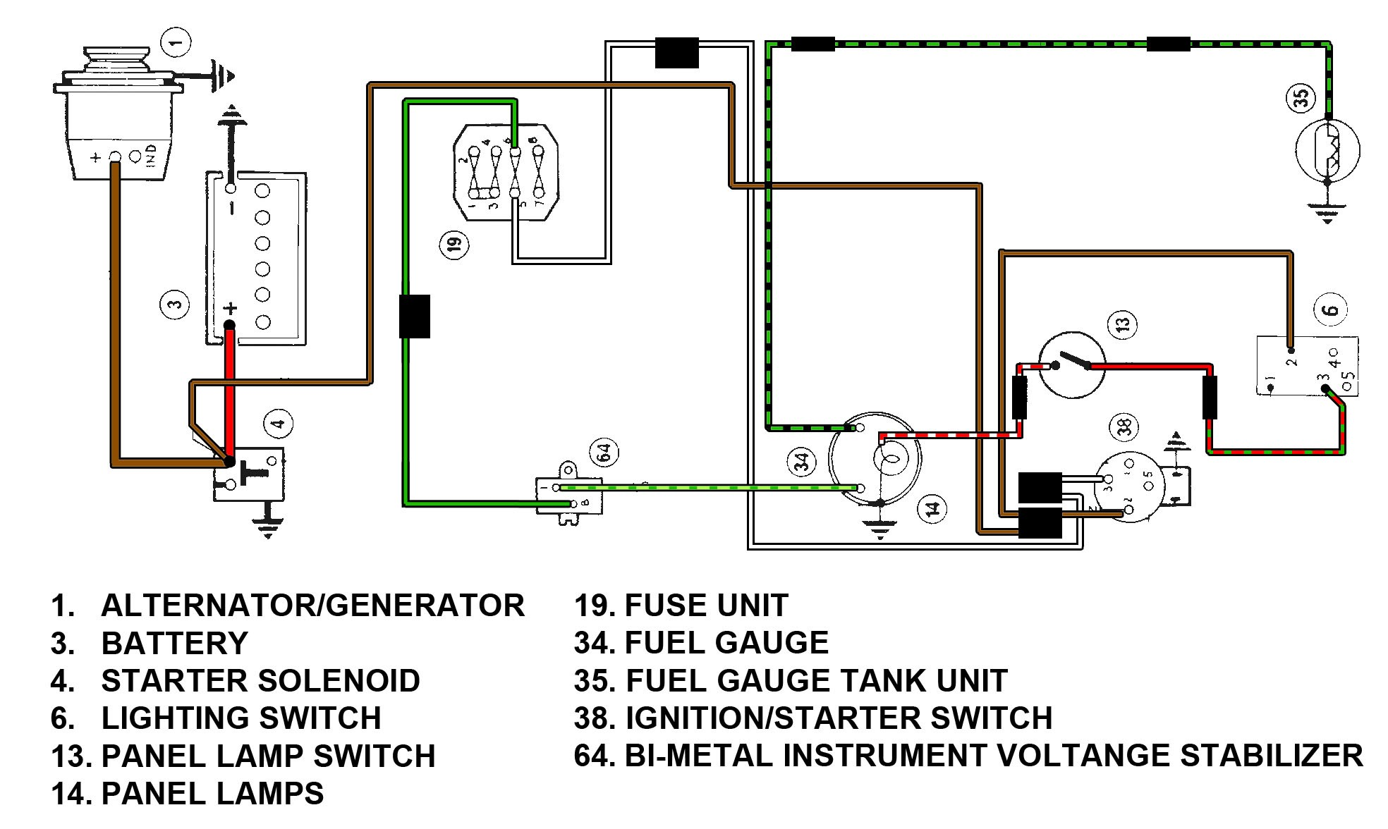 exelent vdo gauges wiring diagrams collection