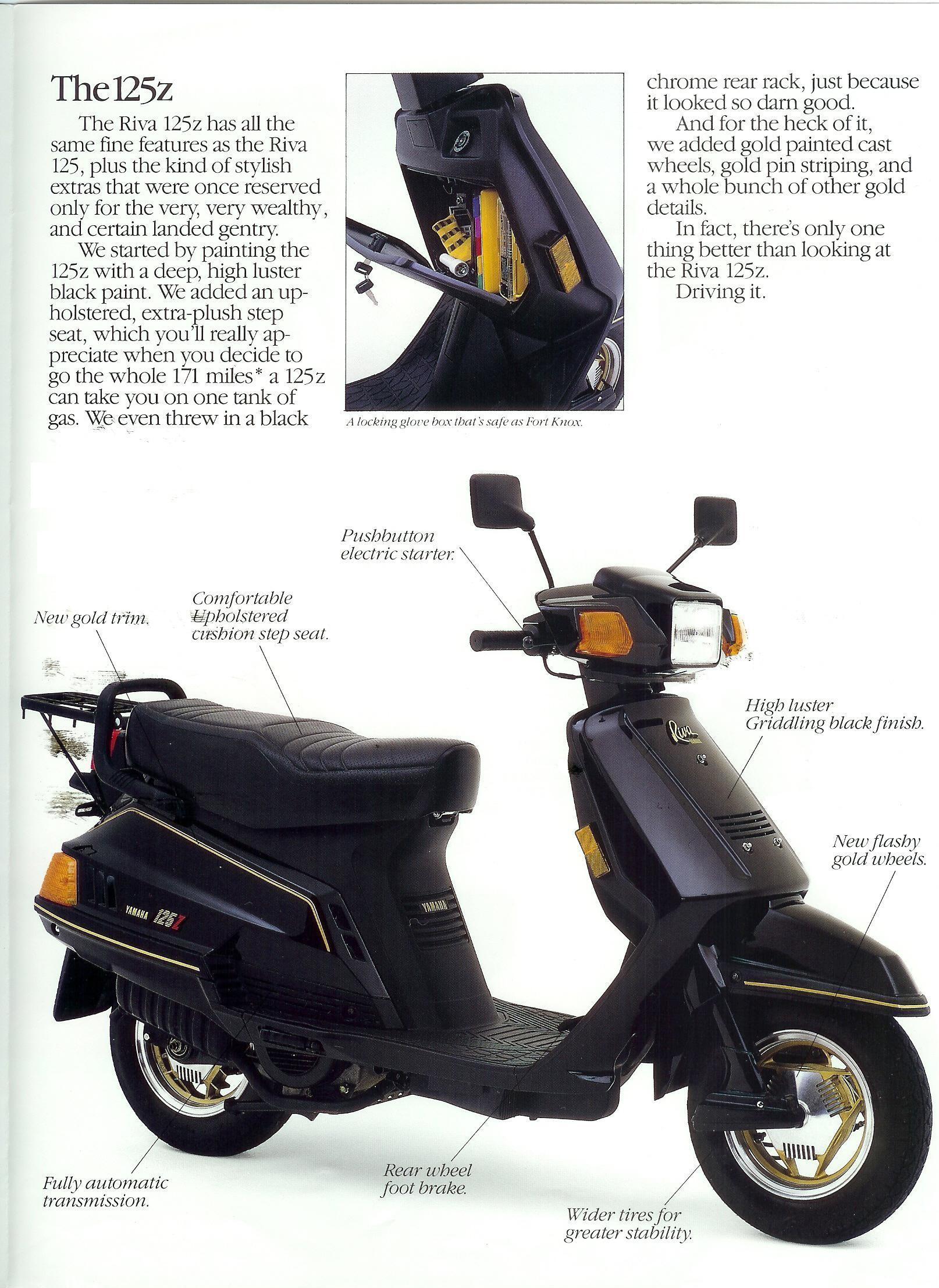 Yamaha 125z Engine Diagram General Yamaha Scooter Information Of Yamaha 125z Engine Diagram