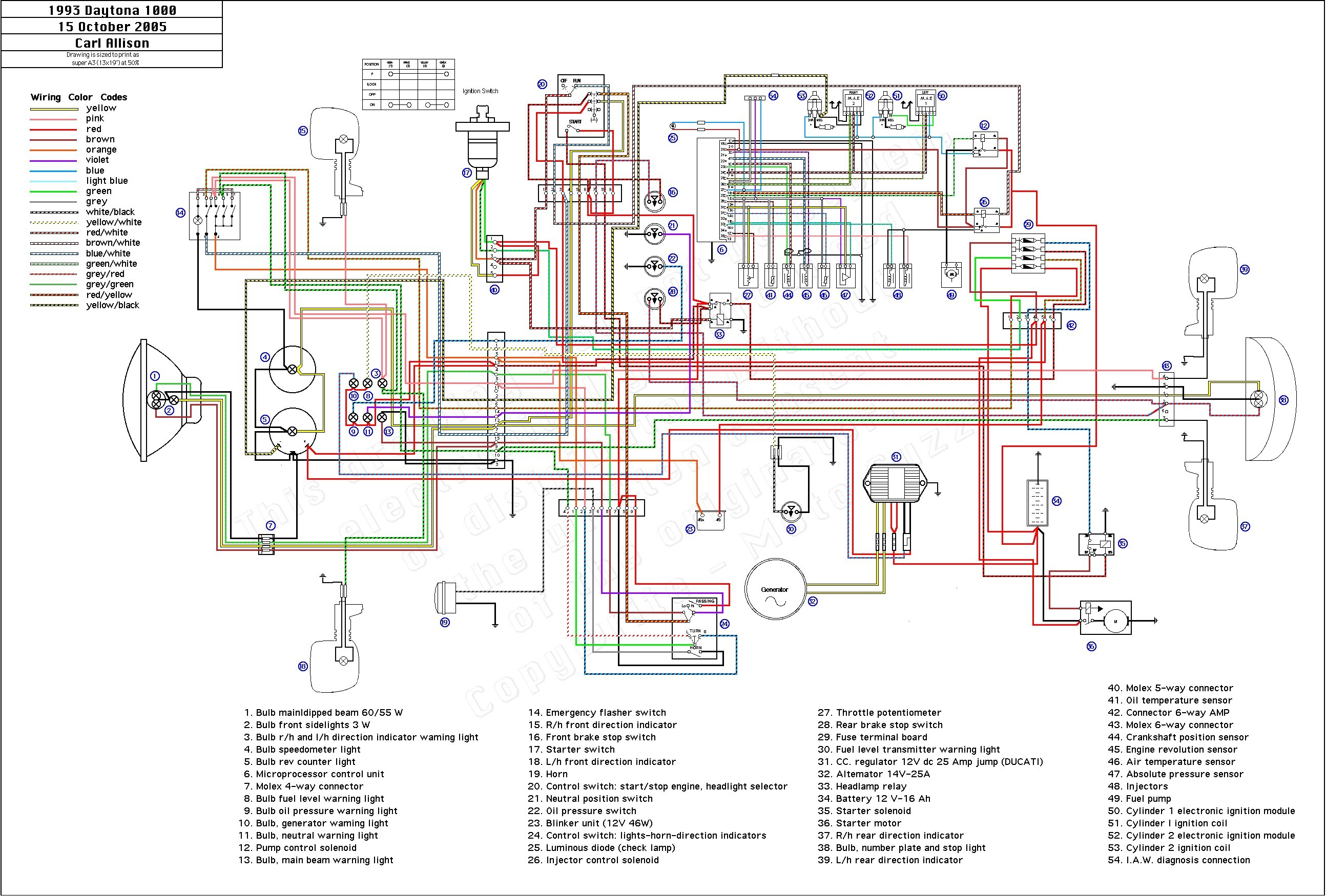 Yamaha Warrior Engine Diagram My Wiring Toyota Sequoia Starter Relay Moto Guzzi Refrence 350 Color At 2001