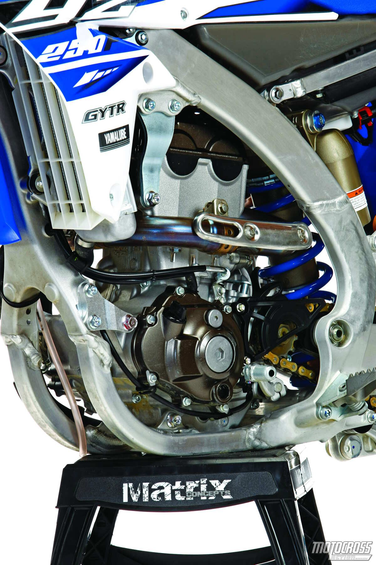 Yz250f Engine Diagram Mxa S 2015 Yamaha Yz250f Motocross Test Spring Into Action Of Yz250f Engine Diagram