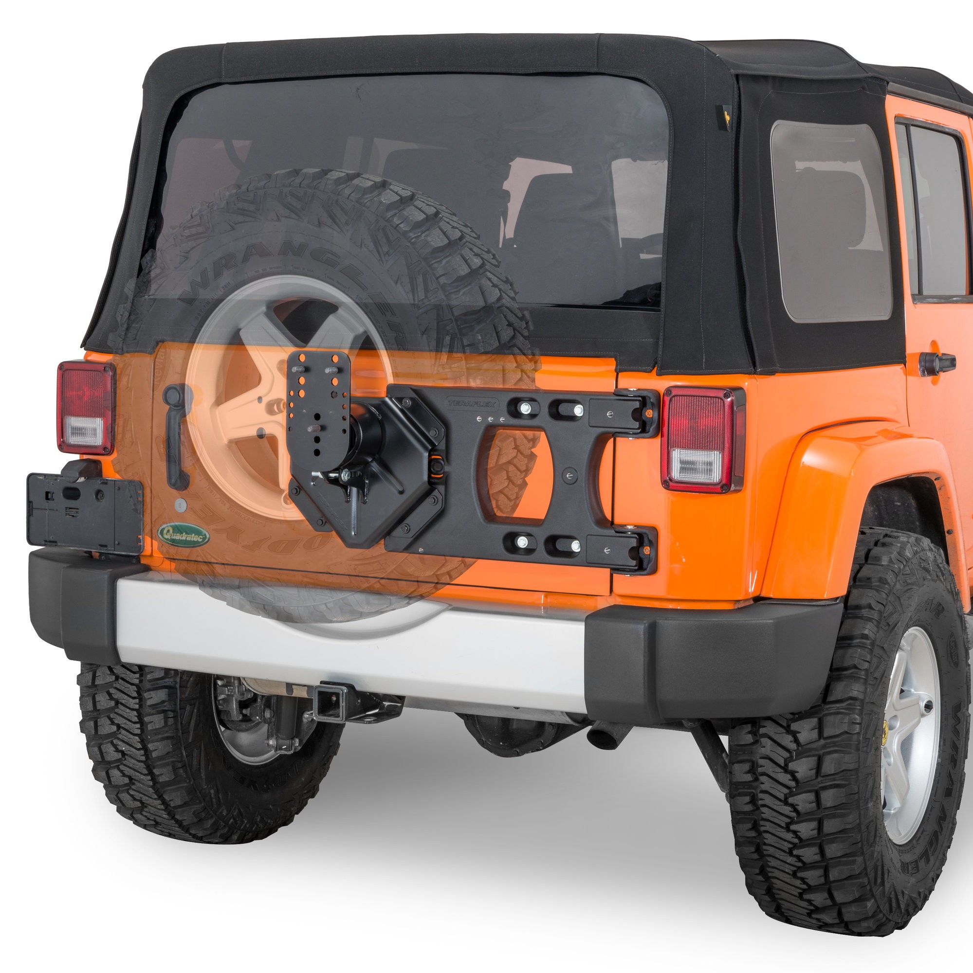Good 1995 Jeep Wrangler Parts Diagram Teraflex Hd Hinged Carrier U0026 Adjustable  Spare Tire Mounting Of 1995