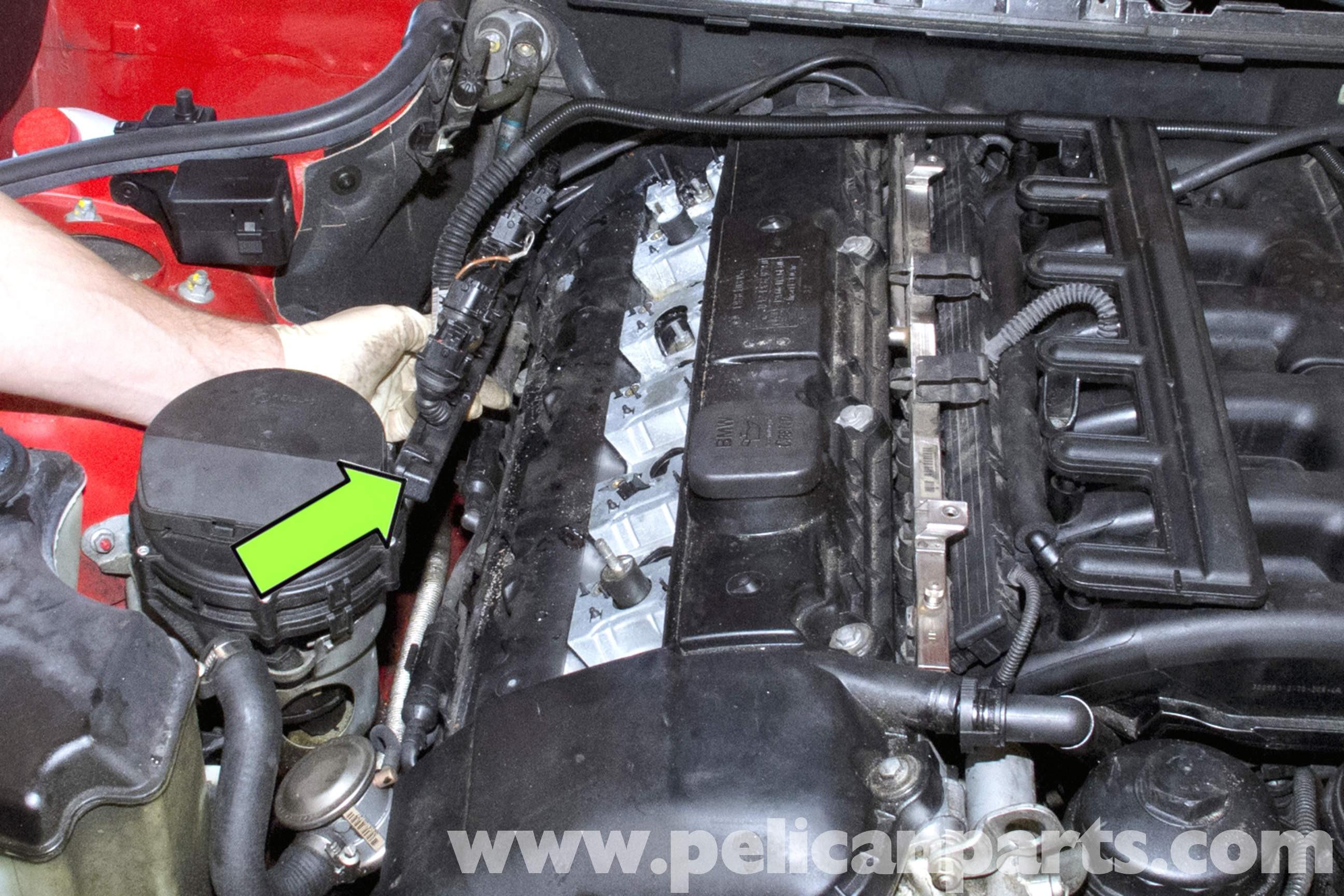1999 Bmw 328i Engine Diagram Starter Removal 325 330 530 E46 Valve Cover Of