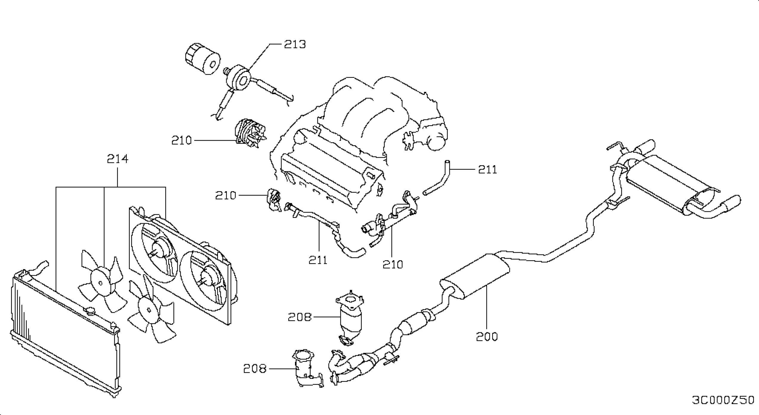 2004 Nissan Altima Engine Diagram Wiring Library 2002 Murano Oem Parts Usa Estore