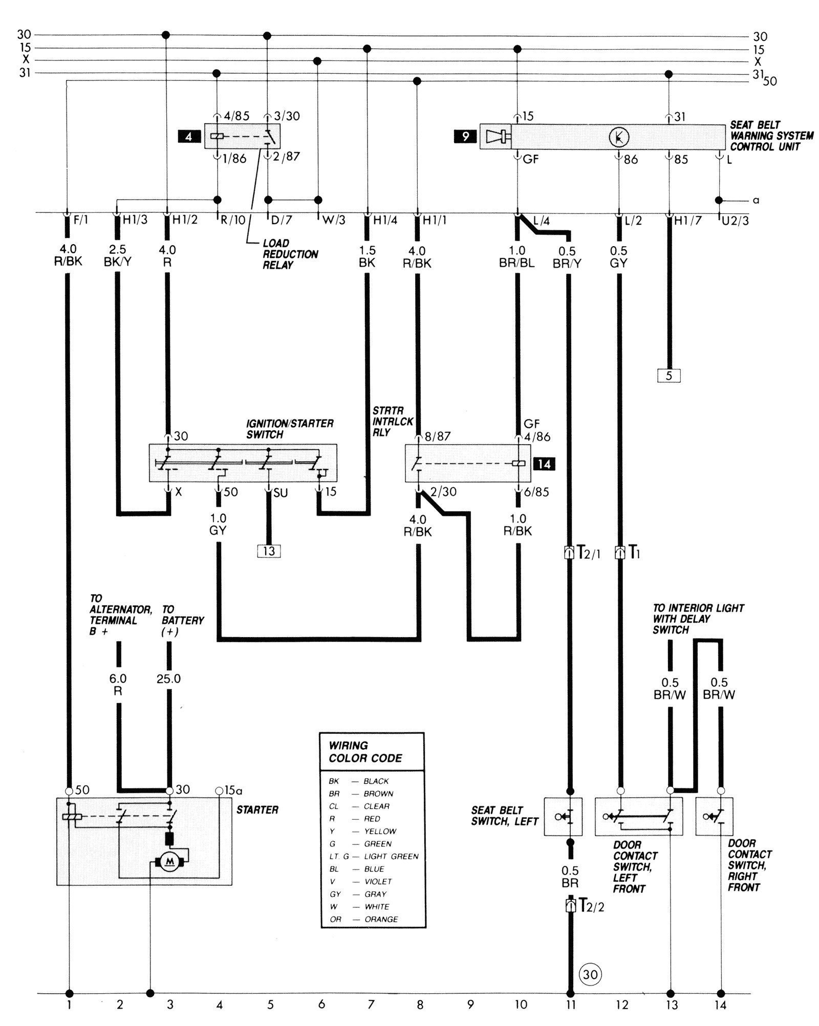 2002 Vw Jetta Tdi Engine Diagram Vr6 Alternator Wiring Diagram & Audi Vw  Engine Bay Fuses
