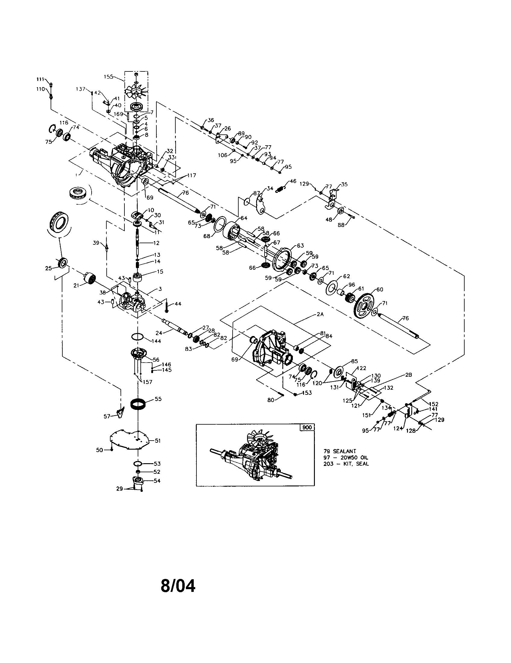 Craftsman Gt 5000 Parts Diagram 917 Garden Tractor 26 Hp