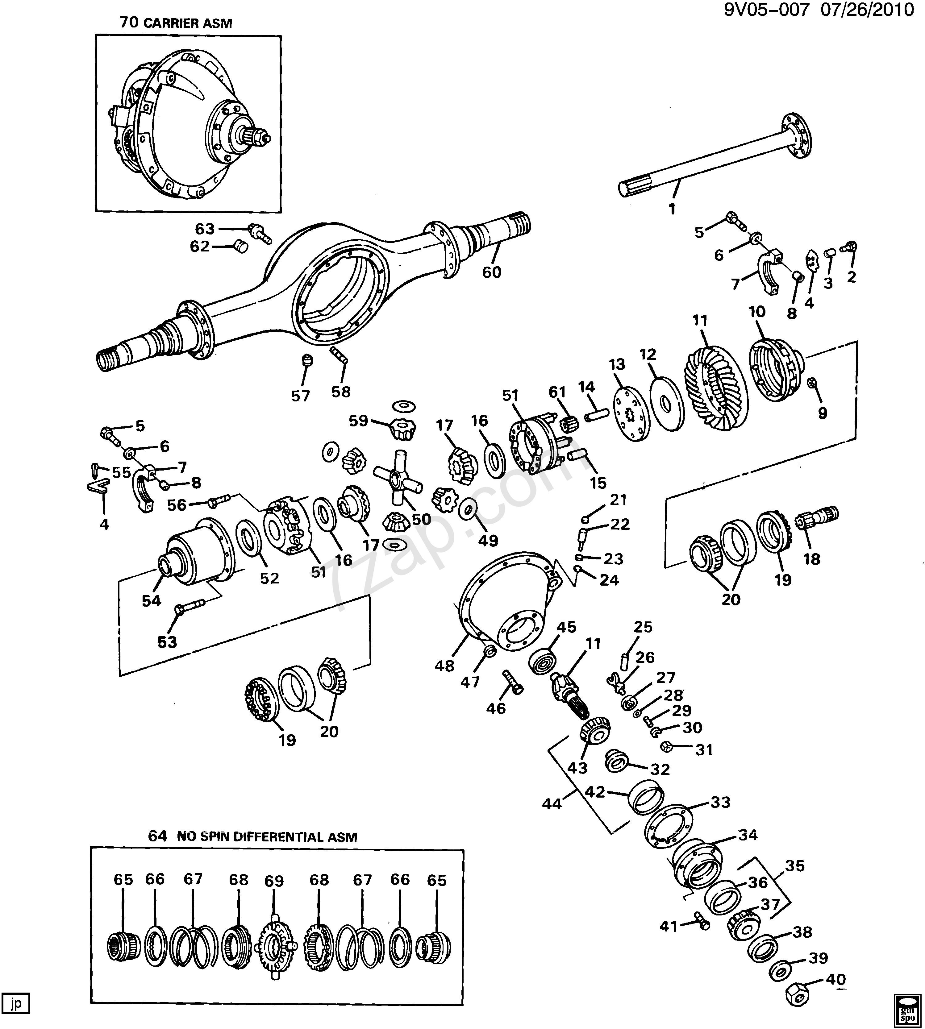 Dana 35 parts diagram 2002 2008 c7h0 42 rear axle eaton two speed t dana 35 parts diagram 2002 2008 c7h0 42 rear axle eaton two speed t hph part ccuart Image collections