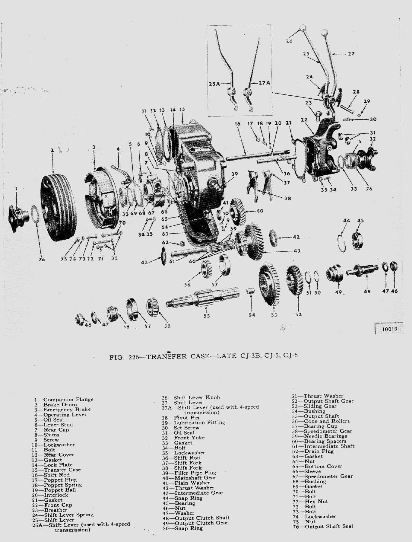 Dana 35 Parts Diagram Partsbreakdown