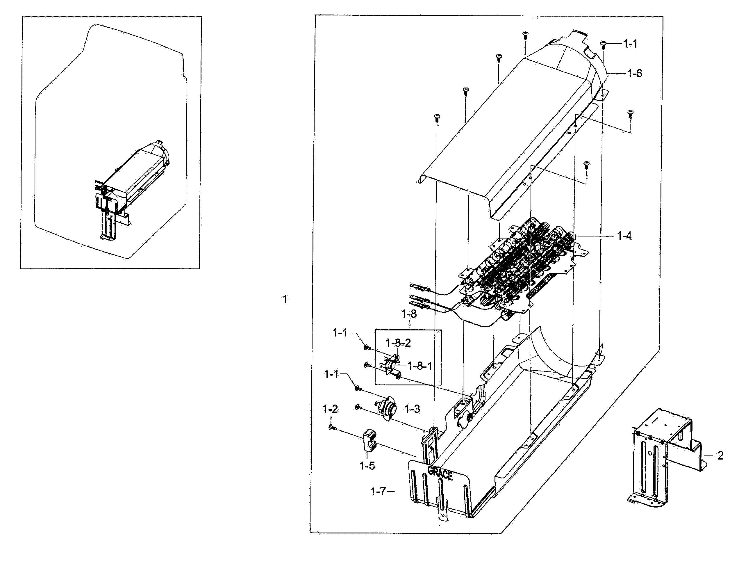 Dyson Animal Parts Diagram Samsung Model Dv56h9100eg A2 0000 Residential Dryer Genuine Parts Of Dyson Animal Parts Diagram