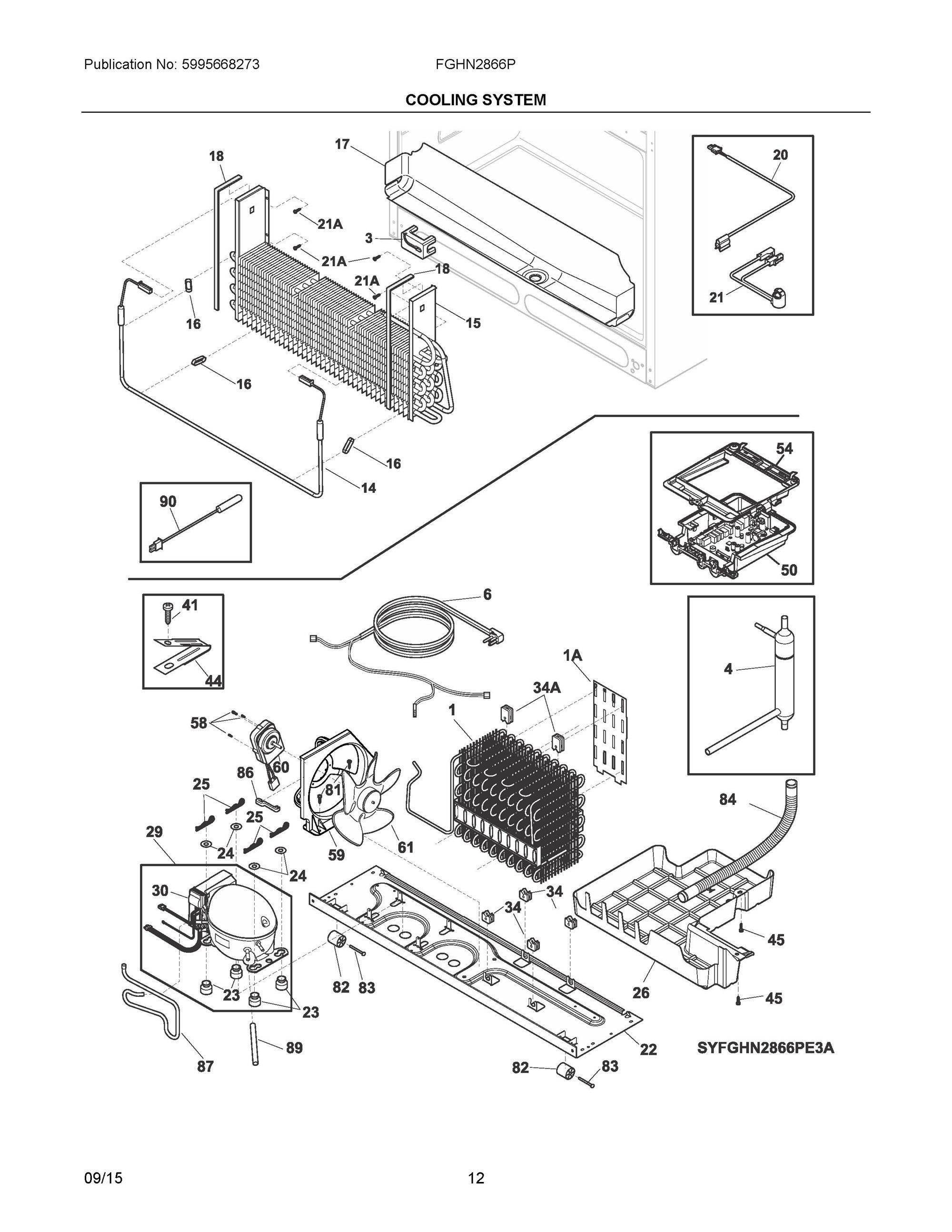 frigidaire dryer parts diagram