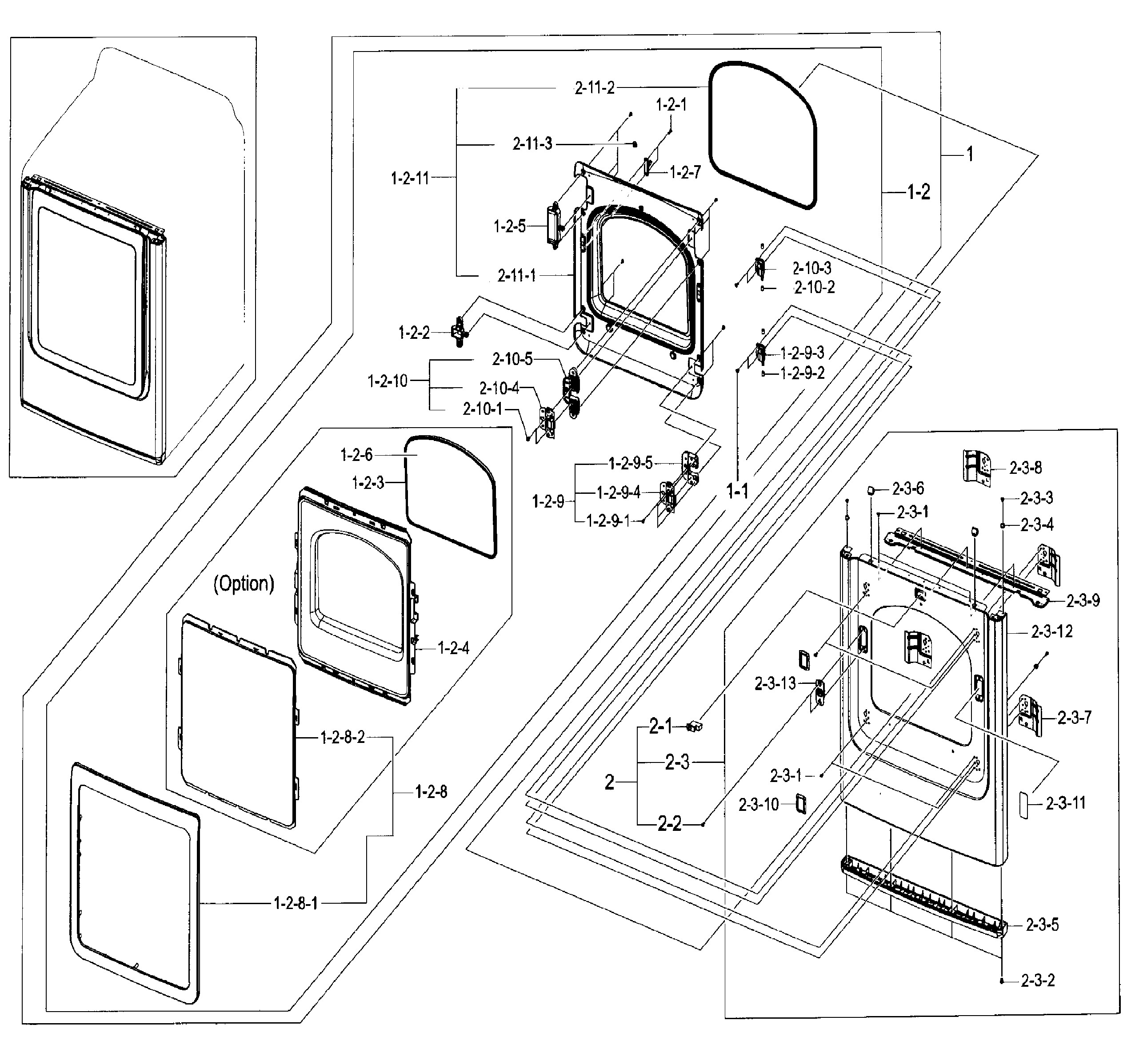 Frigidaire Affinity Dryer Parts Manual Wiring Diagram And List For Dryerparts Model Samsung Ep A Residential Genuine Of