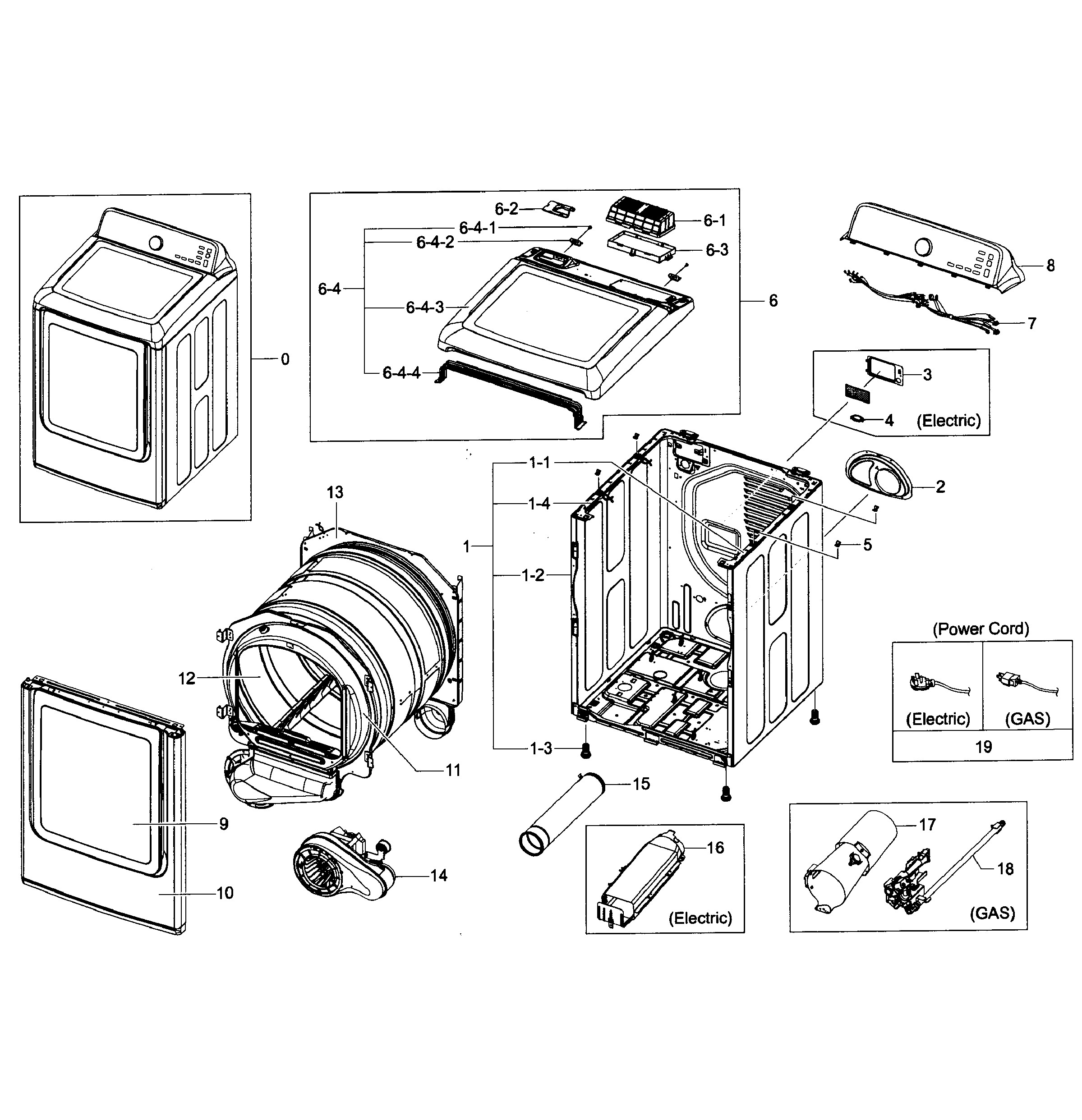 gas water heater parts diagram