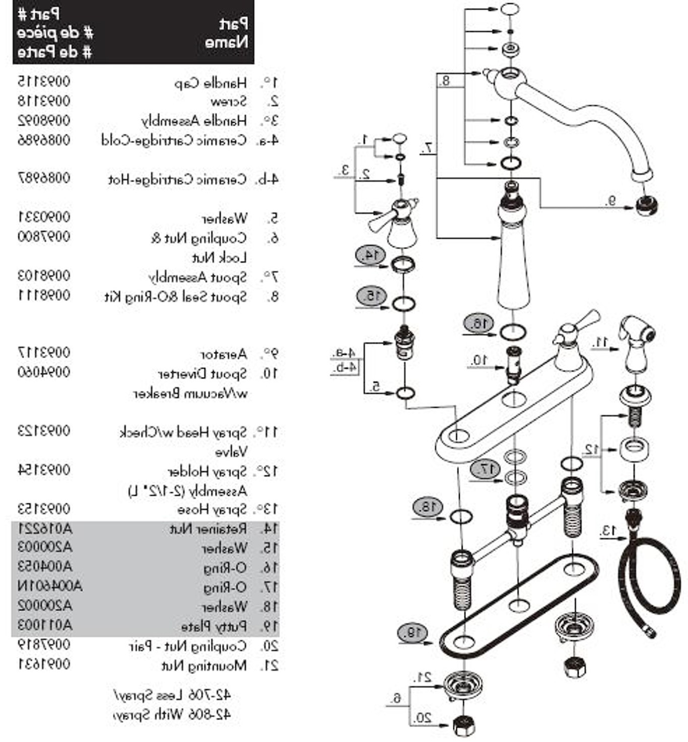 Grohe Faucet Parts Diagram 2 Bathtub Beautiful Moen Shower Bathroom Nice Frieze Products Of