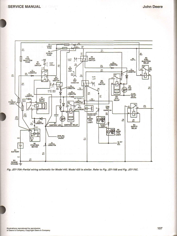 John Deere D105 Parts Diagram