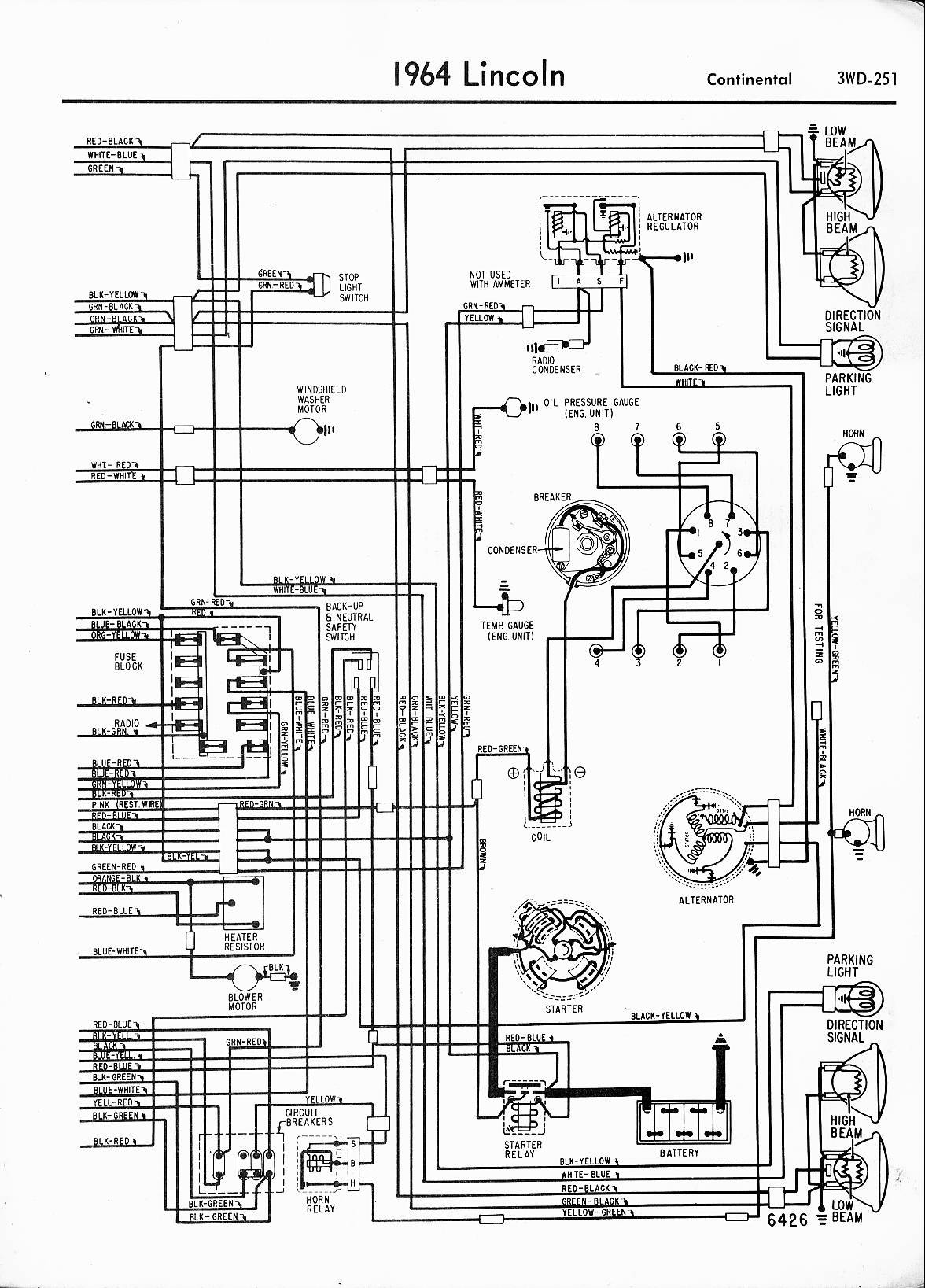 1948 Lincoln Wiring Diagram bull Wiring Diagram For Free