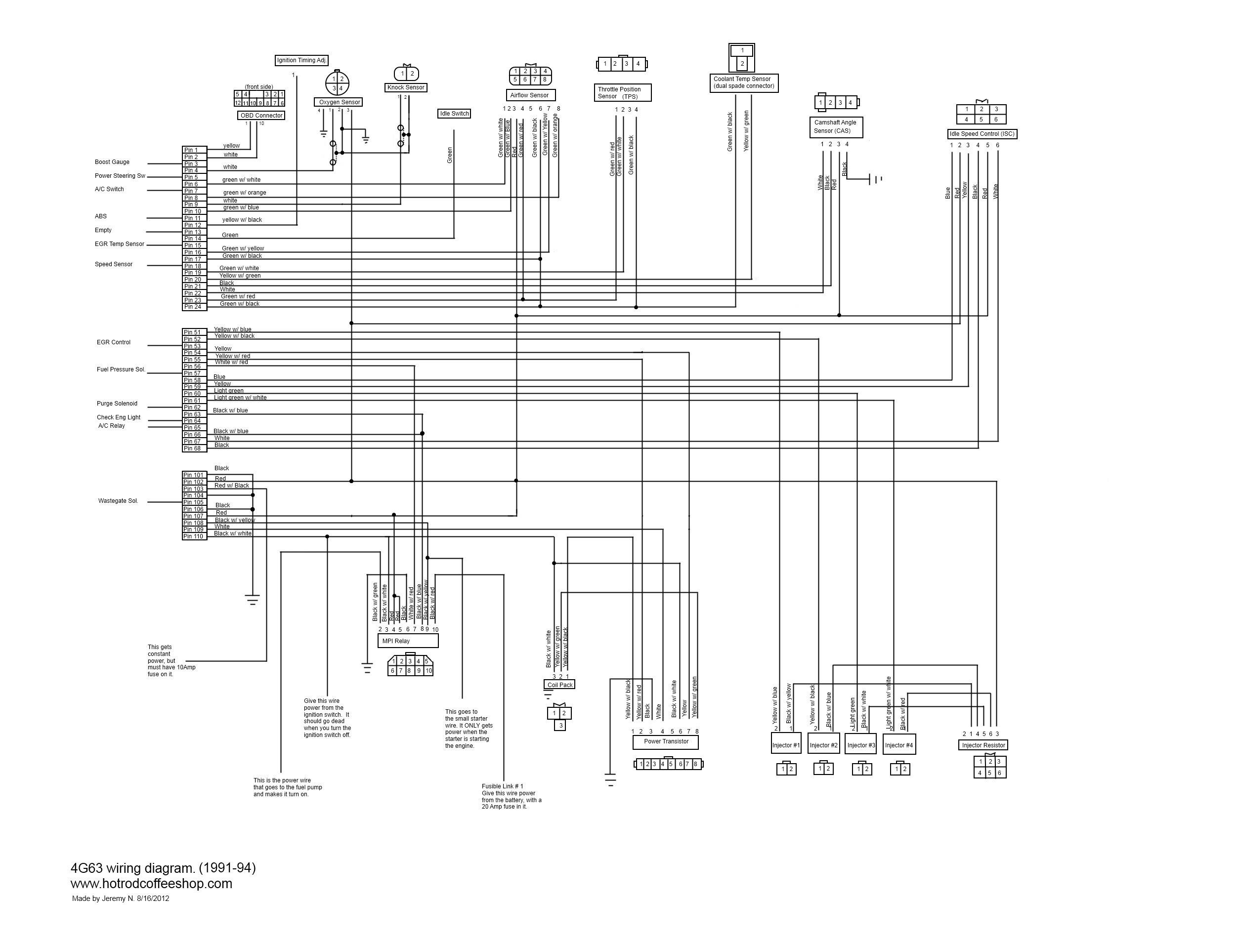 lancer engine diagram