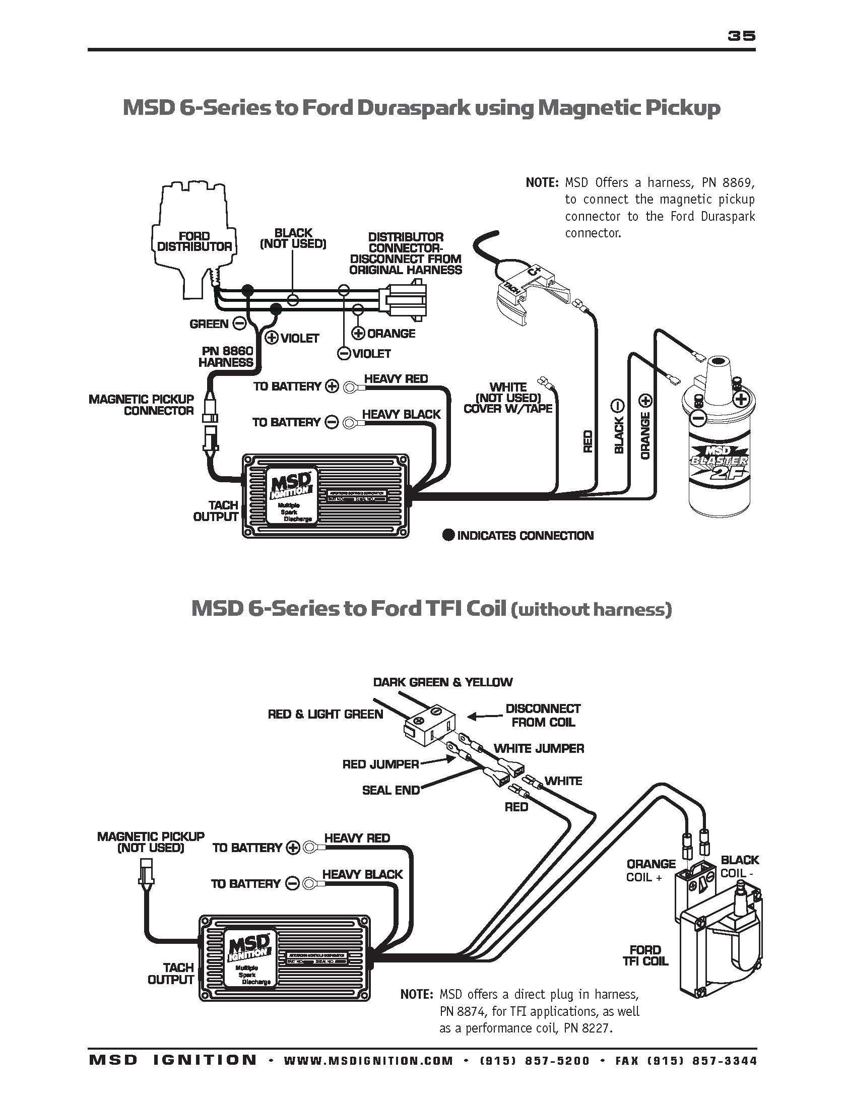 Msd Pn 6425 Wiring Diagram Msd 6al 2 Wiring Of Msd Pn 6425 Wiring Diagram
