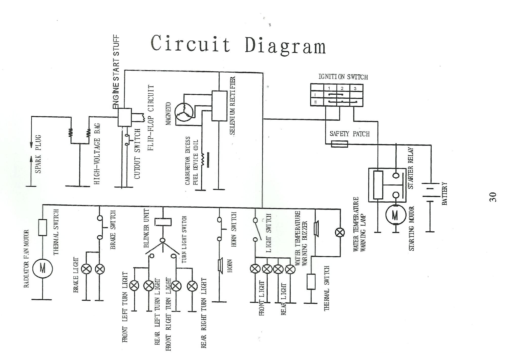 x18 pocket bike wiring diagram seven