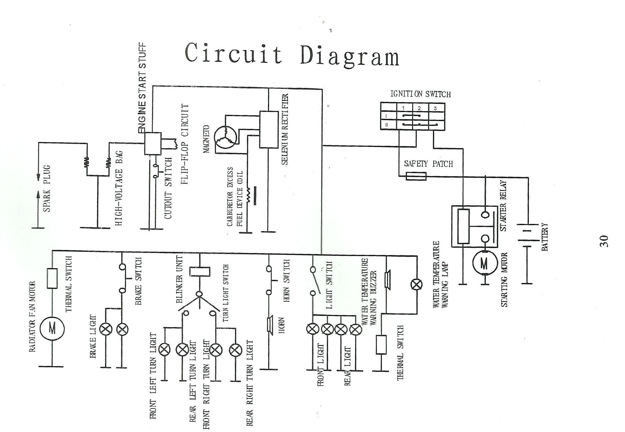 x18 pocket bike wiring diagram seven