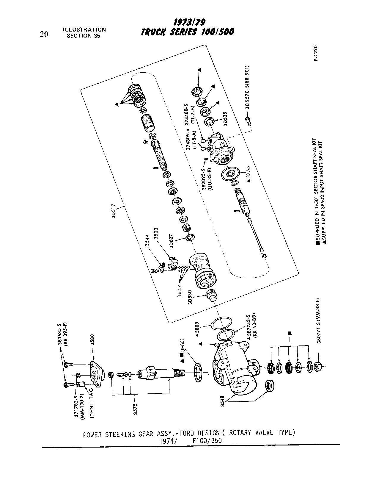 Power Steering Box Diagram F 250 Steering Box Rebuild ford Truck  Enthusiasts forums Of Power Steering