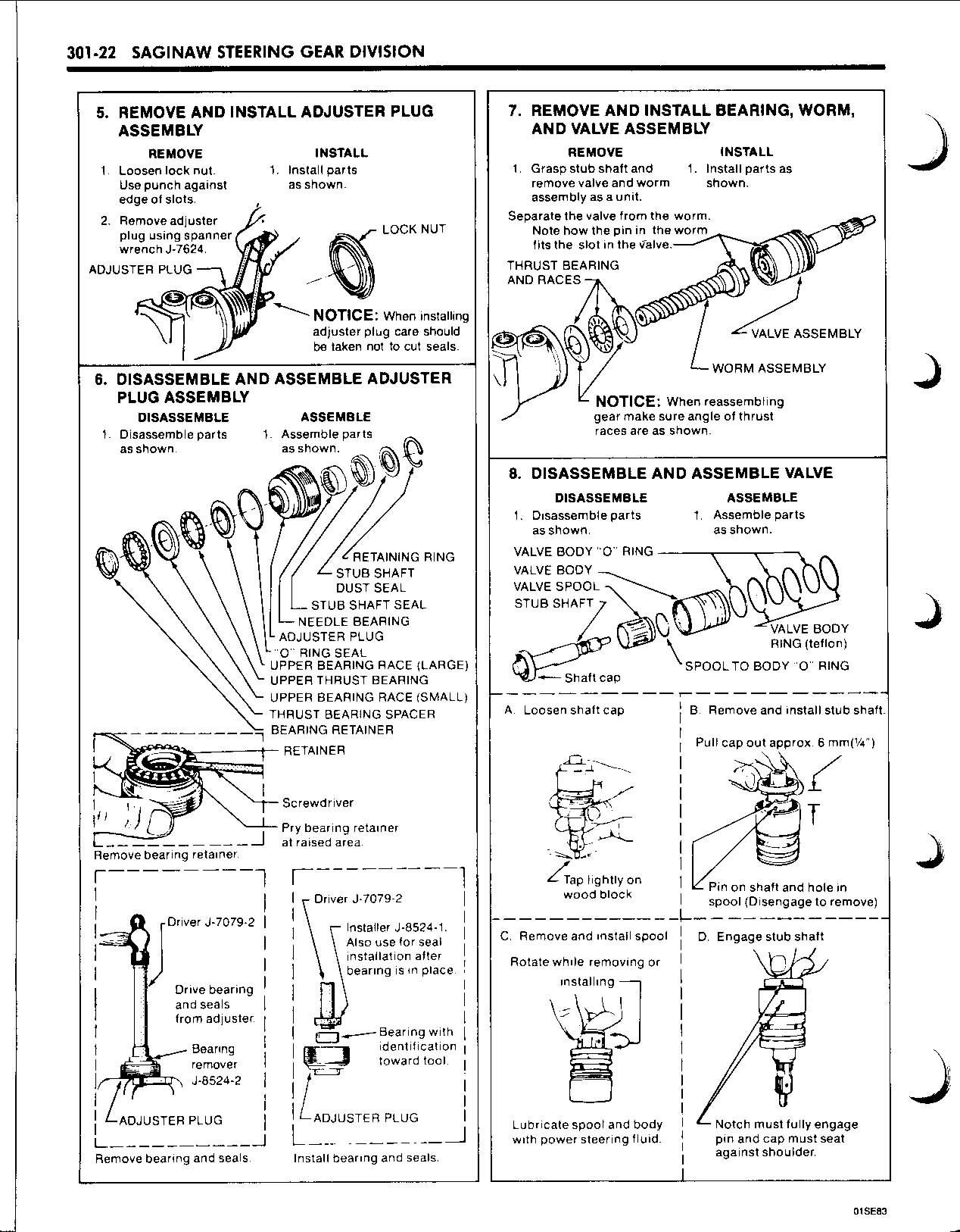 Power Steering Box Diagram