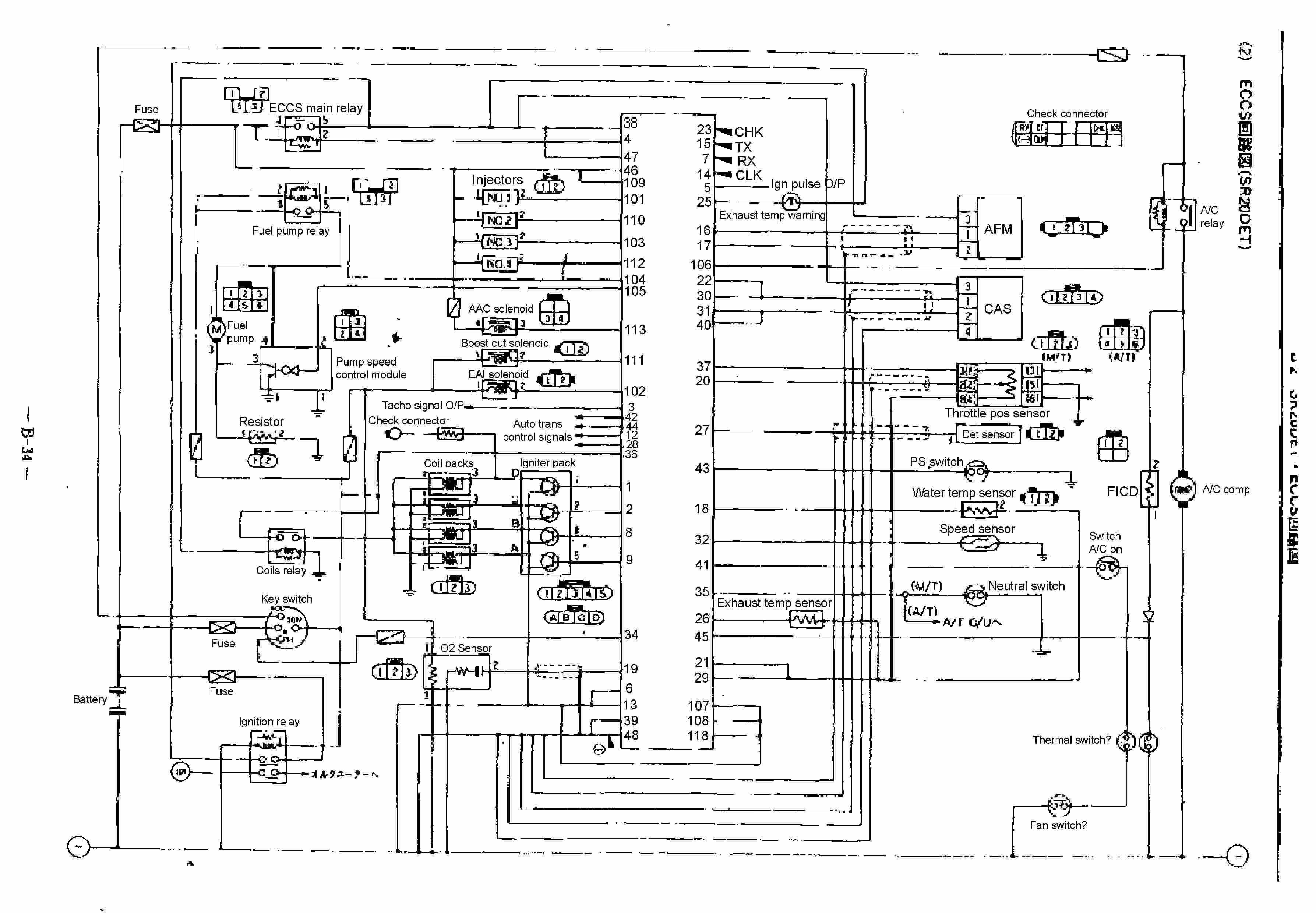 sr20det engine diagram nissan sr20det engine wiring diagram nissan wiring harness diagram nissan sr20det wiring diagram #19