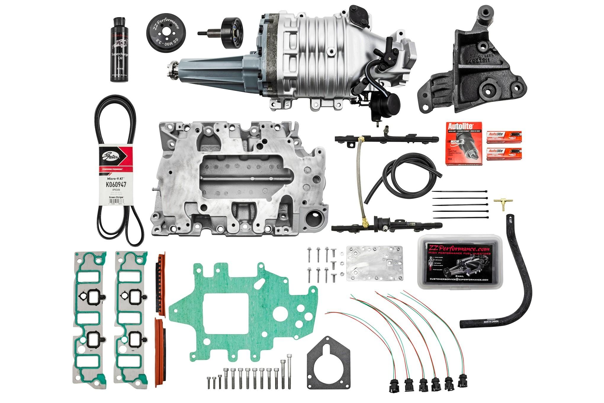 Supercharger Setup Diagram