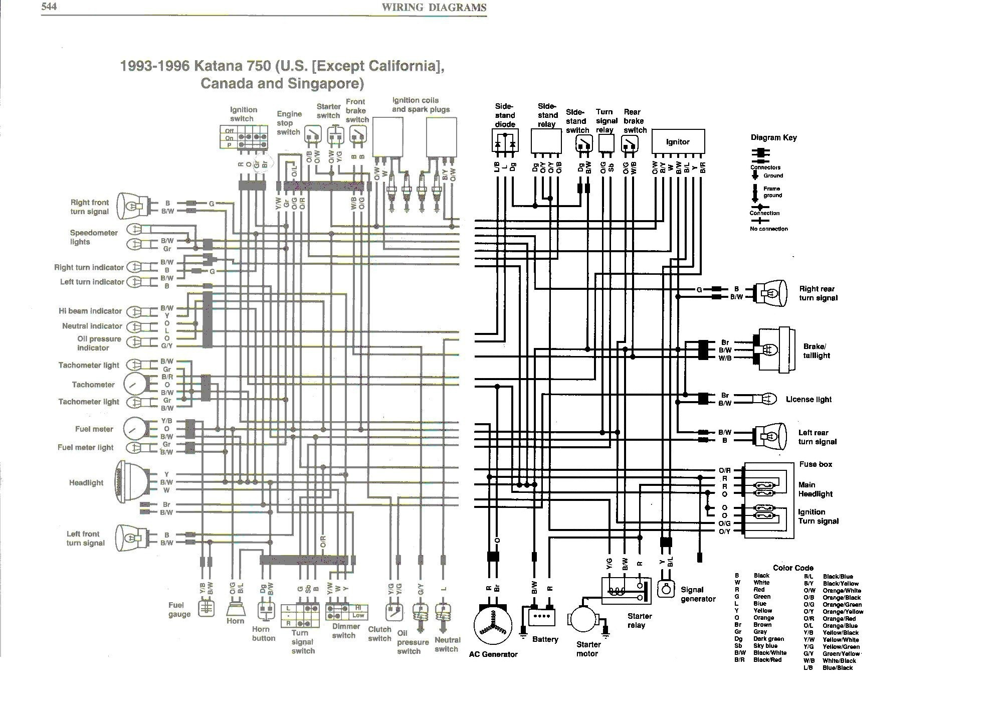 wiring diagram suzuki bandit 600 data diagrams