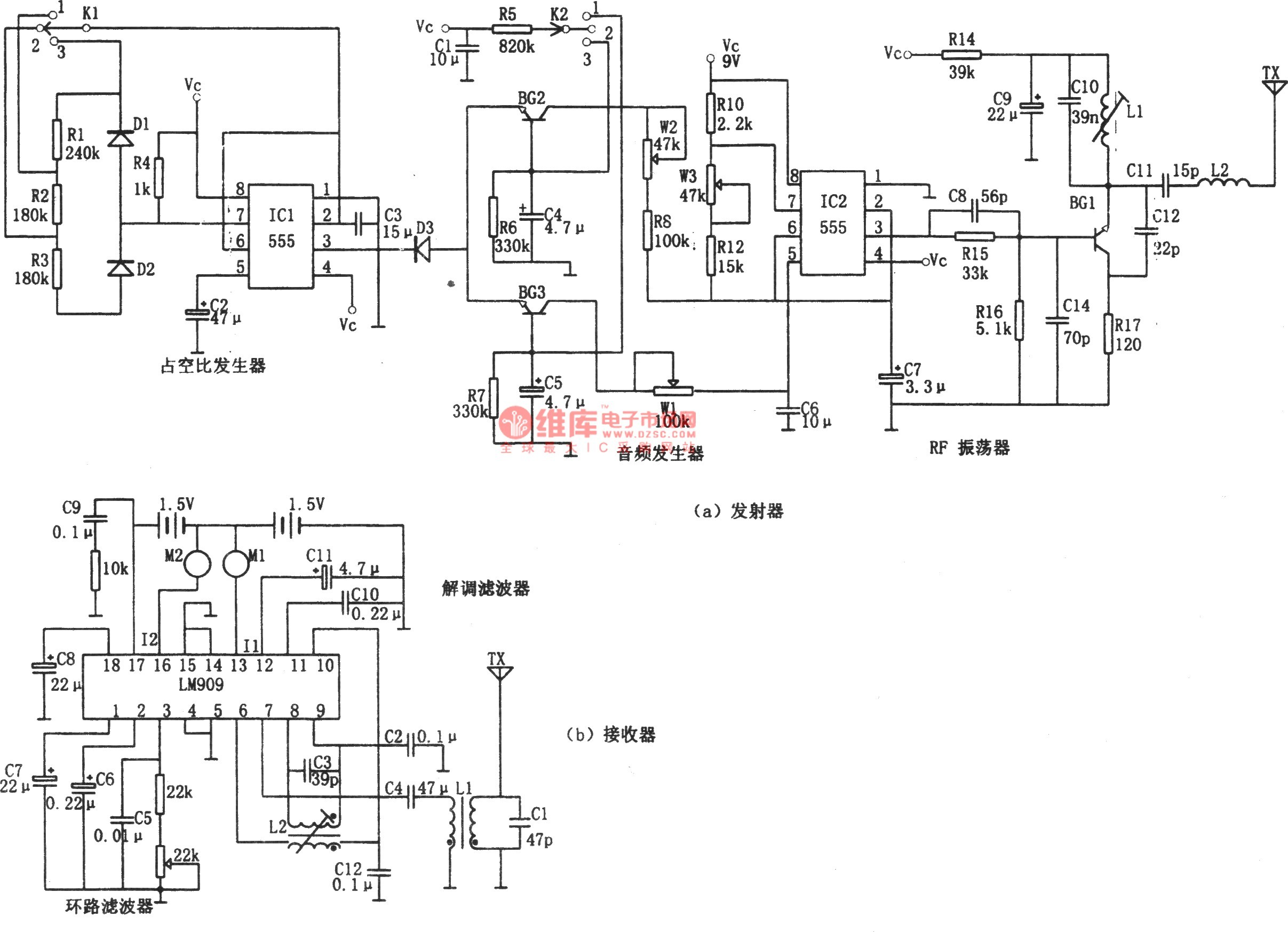 Toy Car Remote Control Circuit Diagram Vehicle Wiring