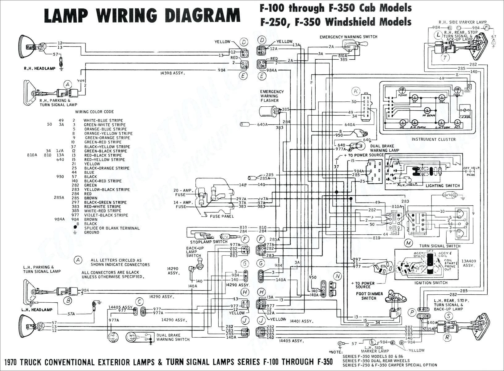 turn signal wiring schematic diagram