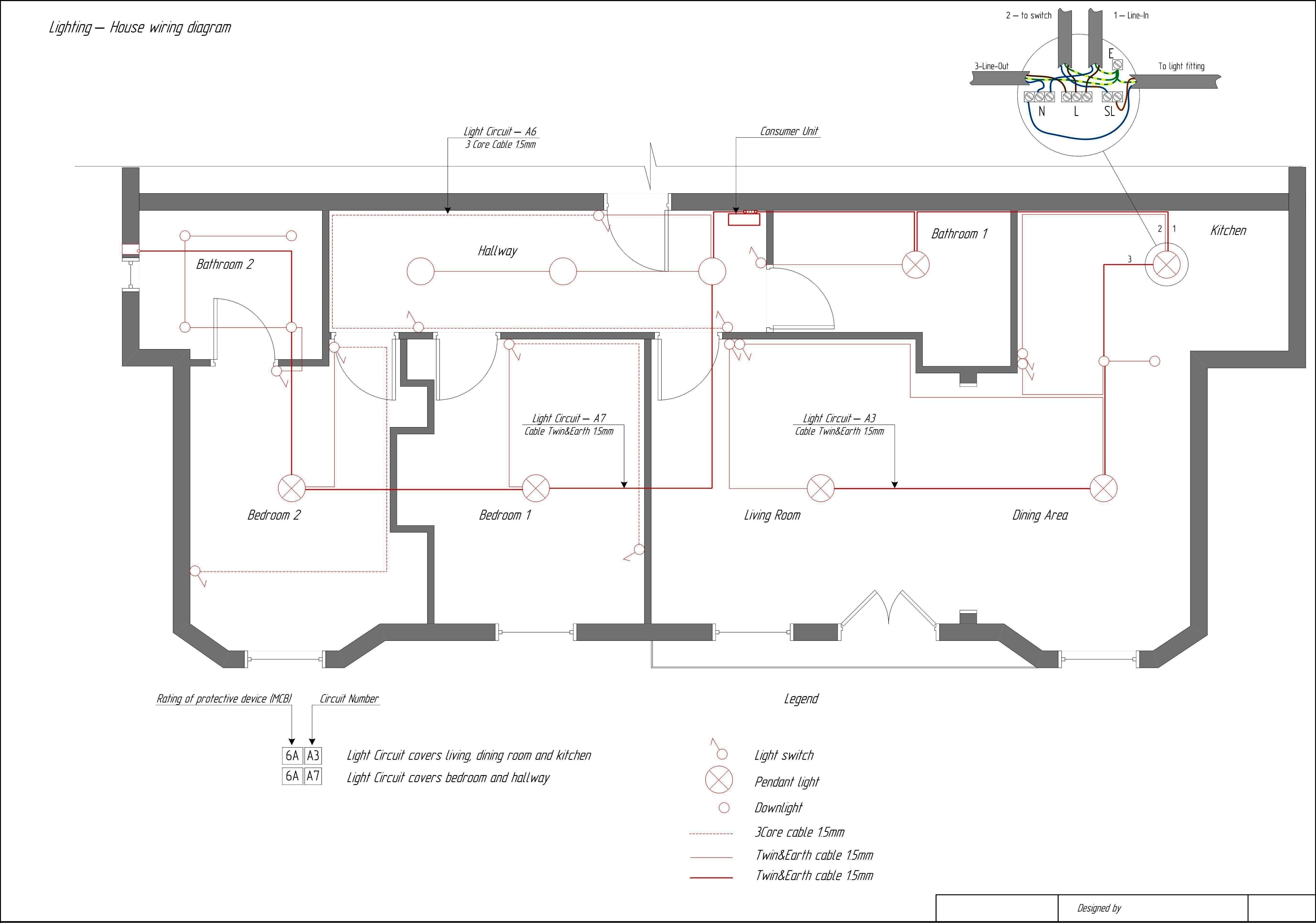 Wiring Diagram for House Lighting Circuit Dmx Lighting Wiring ...