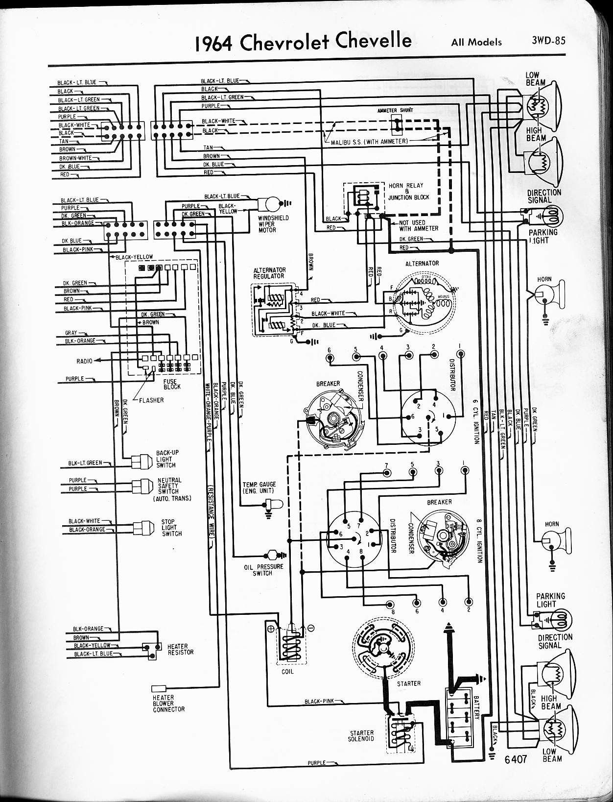 Chevy Chevelle Wiring Diagram