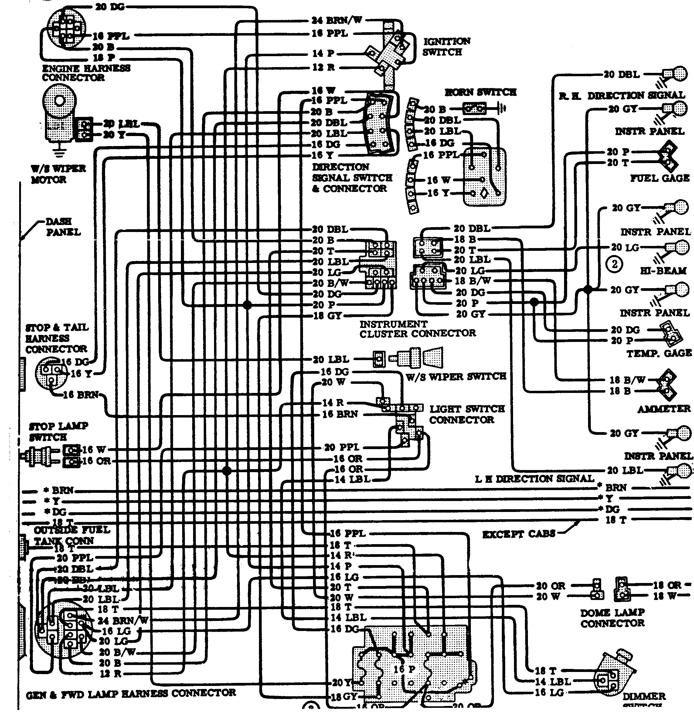 1974 Chevy Truck Wiring Diagram 1970 Chevrolet C10 Wiring Diagram Download  – Wiring Diagram Collection Of