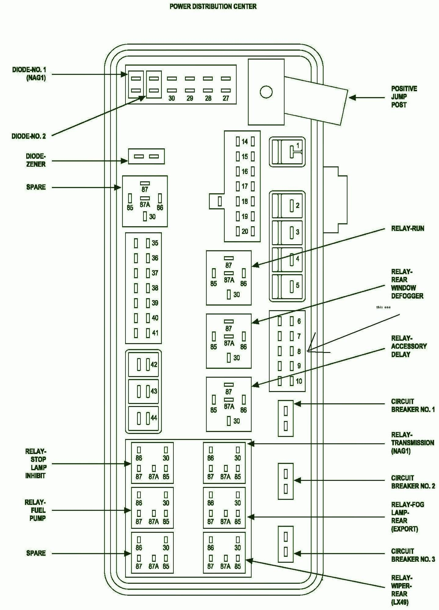 Wiring Diagram For 1999 Plymouth Voyager 1999 Plymouth Voyager