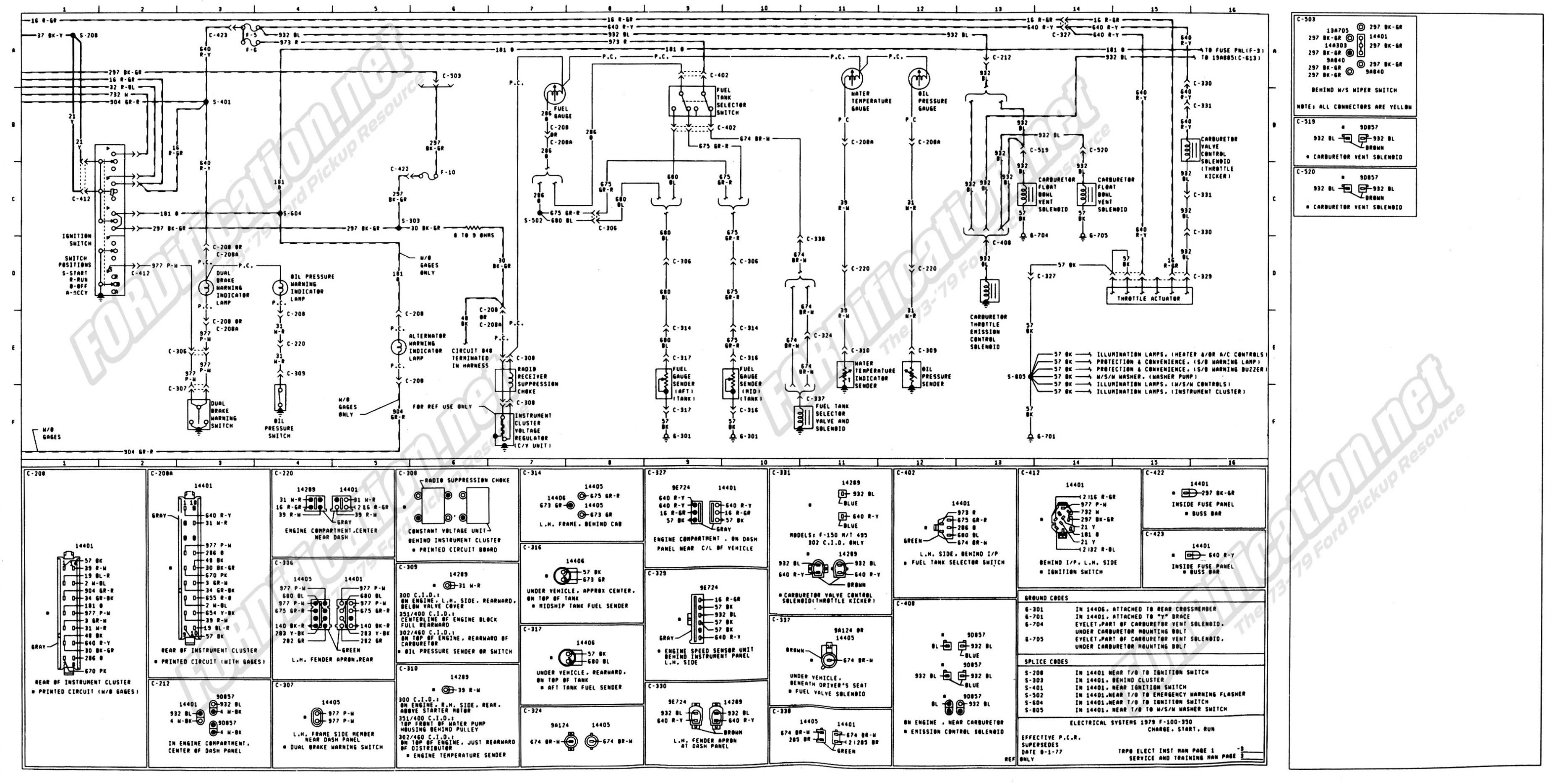 2001 Ford 7 3 Liter Diesel Engine Diagram F250 3l Wiring Powerstroke 1973 1979 Truck Diagrams Schematics