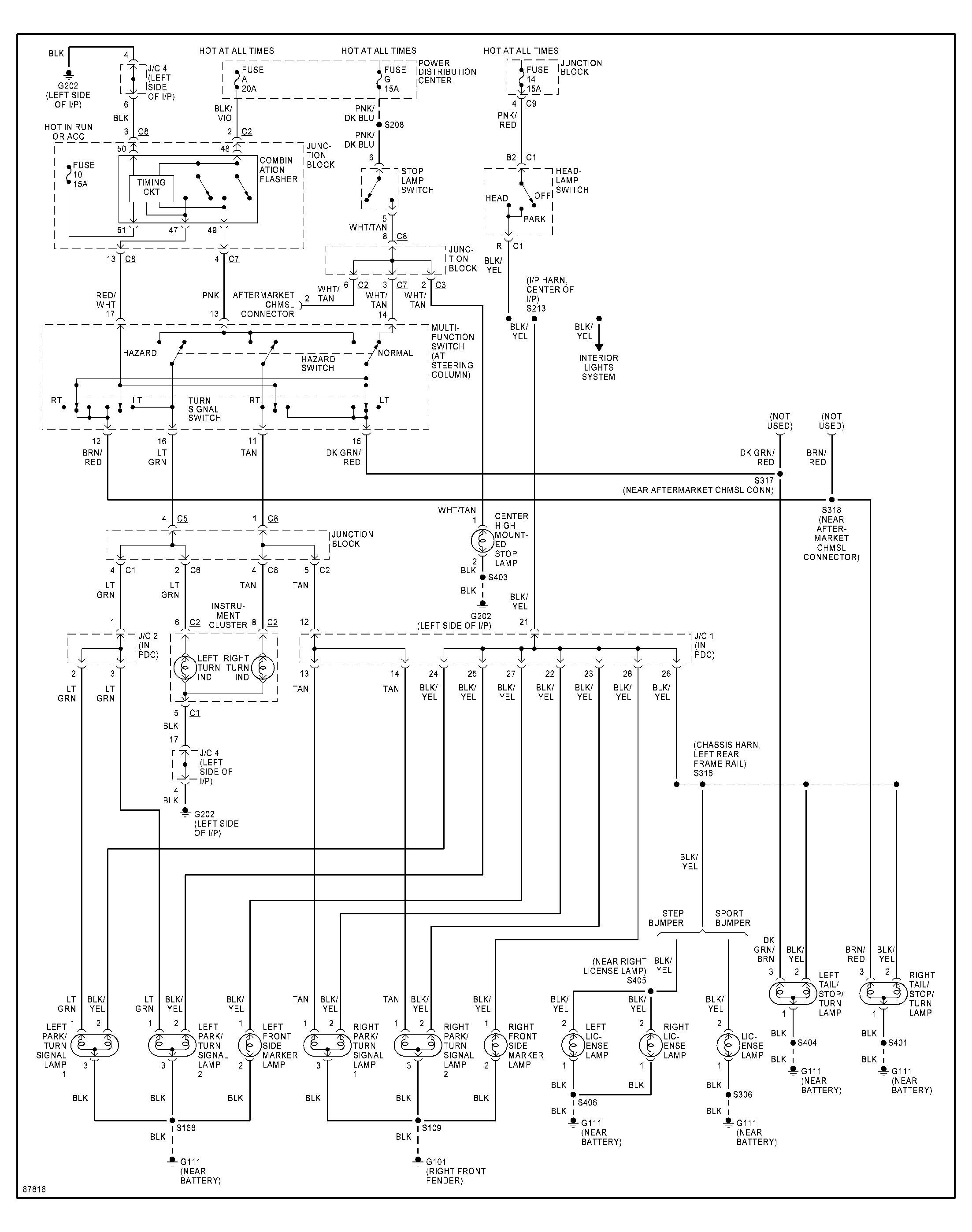 2002 dodge ram wiring diagram