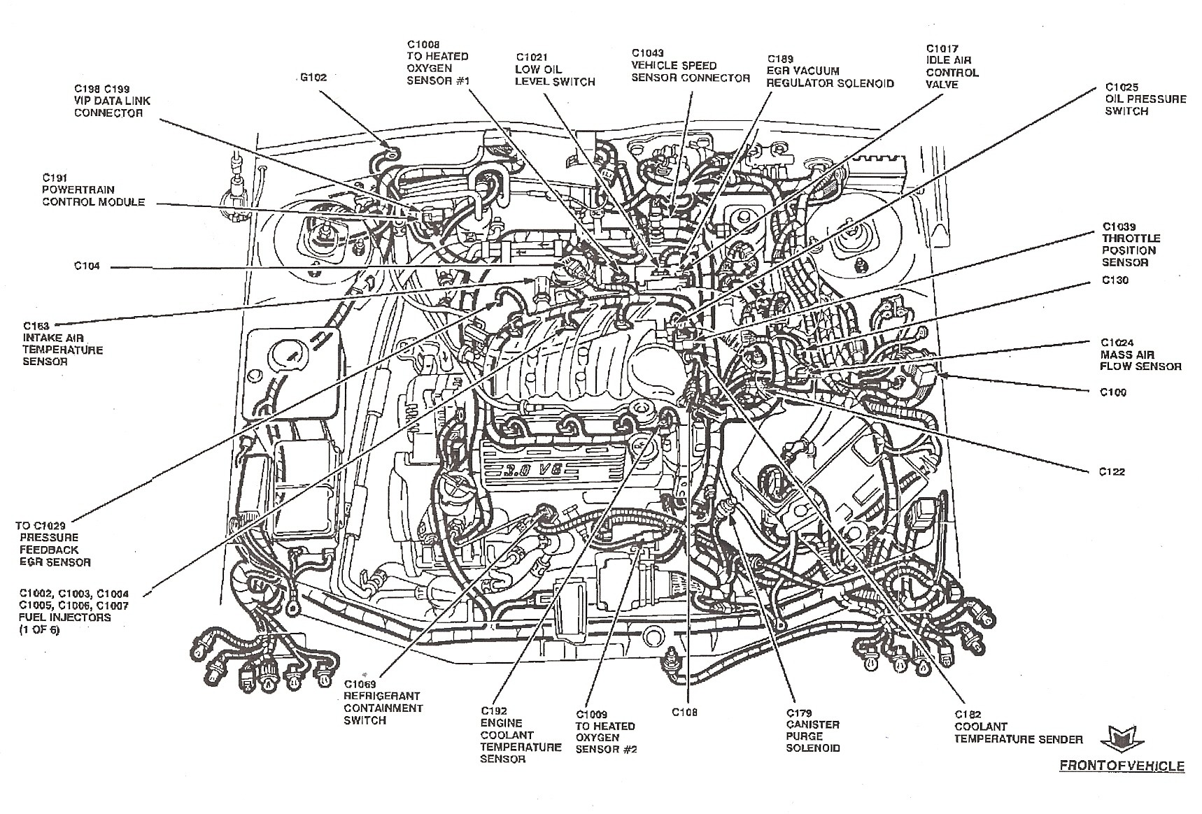 2002 ford focus se engine diagram 2007 ford focus fuse diagram rh  detoxicrecenze com 2000 Ford Focus 2.0 Engine Ford 2.0 Timing Belt Diagram
